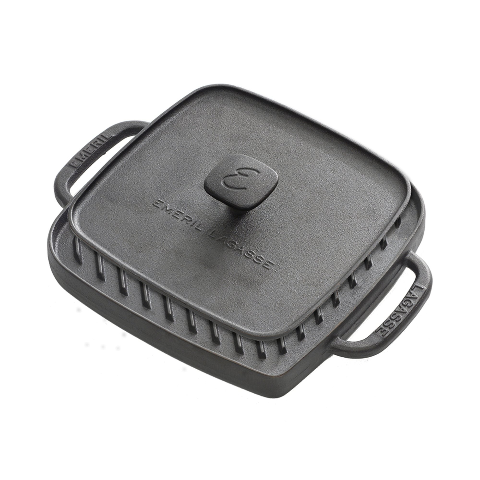 emeril lagasse cast iron reversible grill griddle with press grill