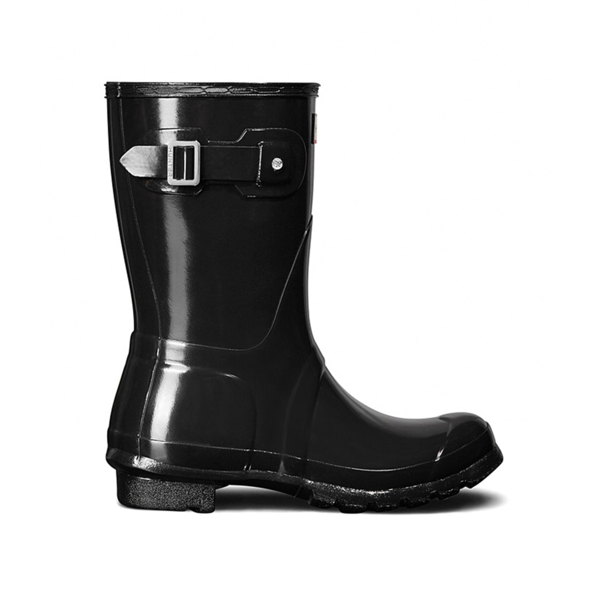 6e9157eaafde3f Hunter Boot. Hunter Boot Women s Original Short Gloss Rainboot