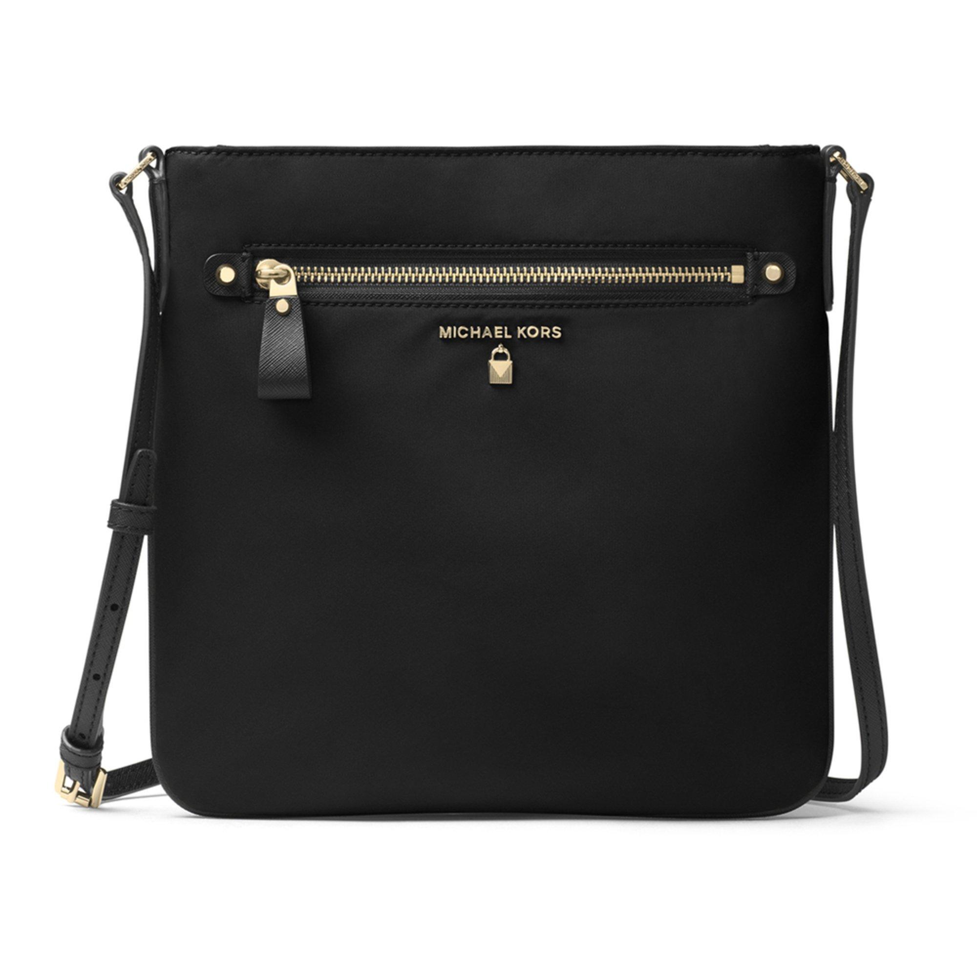 8b55fc49ba30 Michael Kors Nylon Kelsey Large Crossbody Black | Crossbody & Messenger Bags  | Handbags & Sunglasses - Shop Your Navy Exchange - Official Site