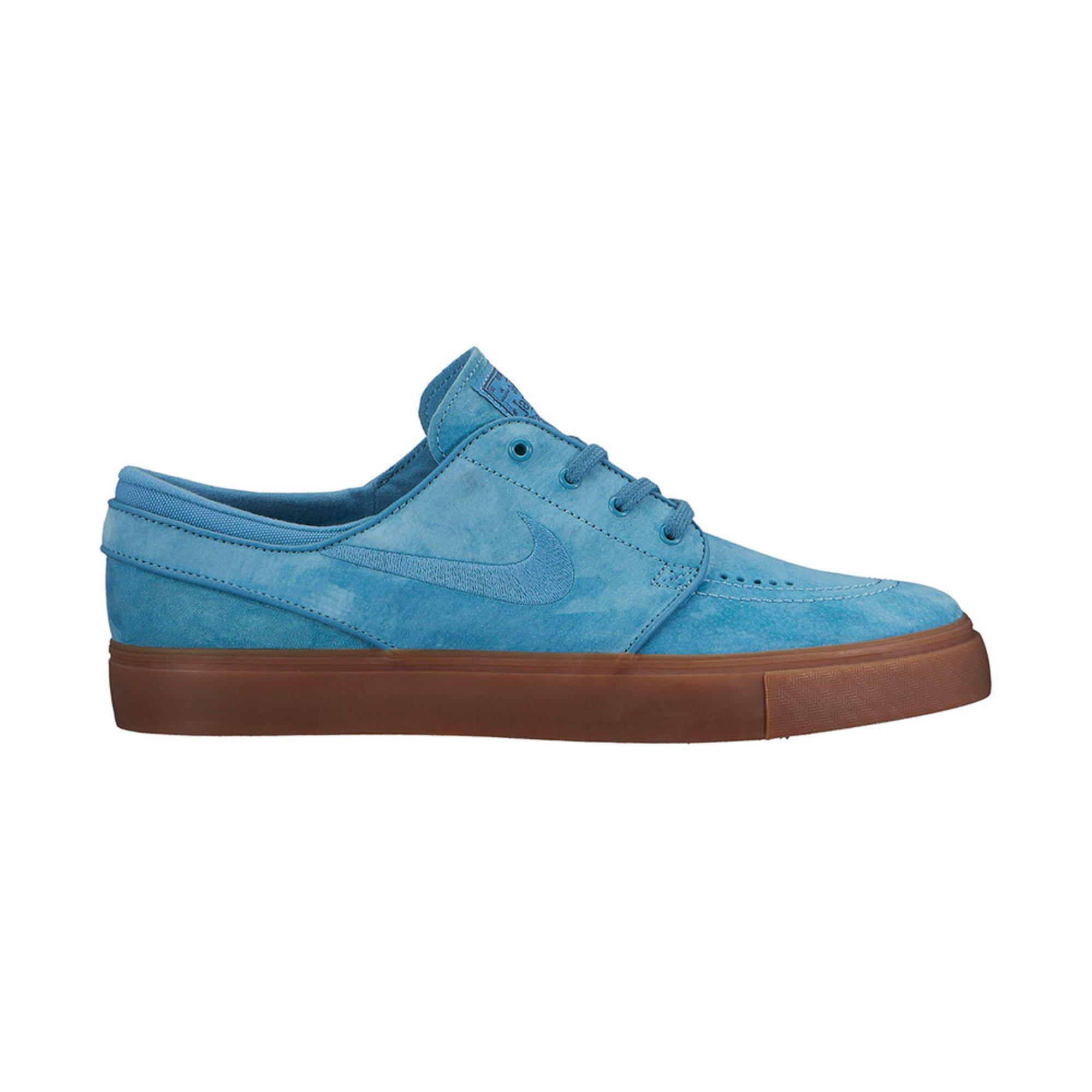 Nike. Nike SB Zoom Stefan Janoski Men's Skate Shoe - Noise Aqua / Thunder  Blue