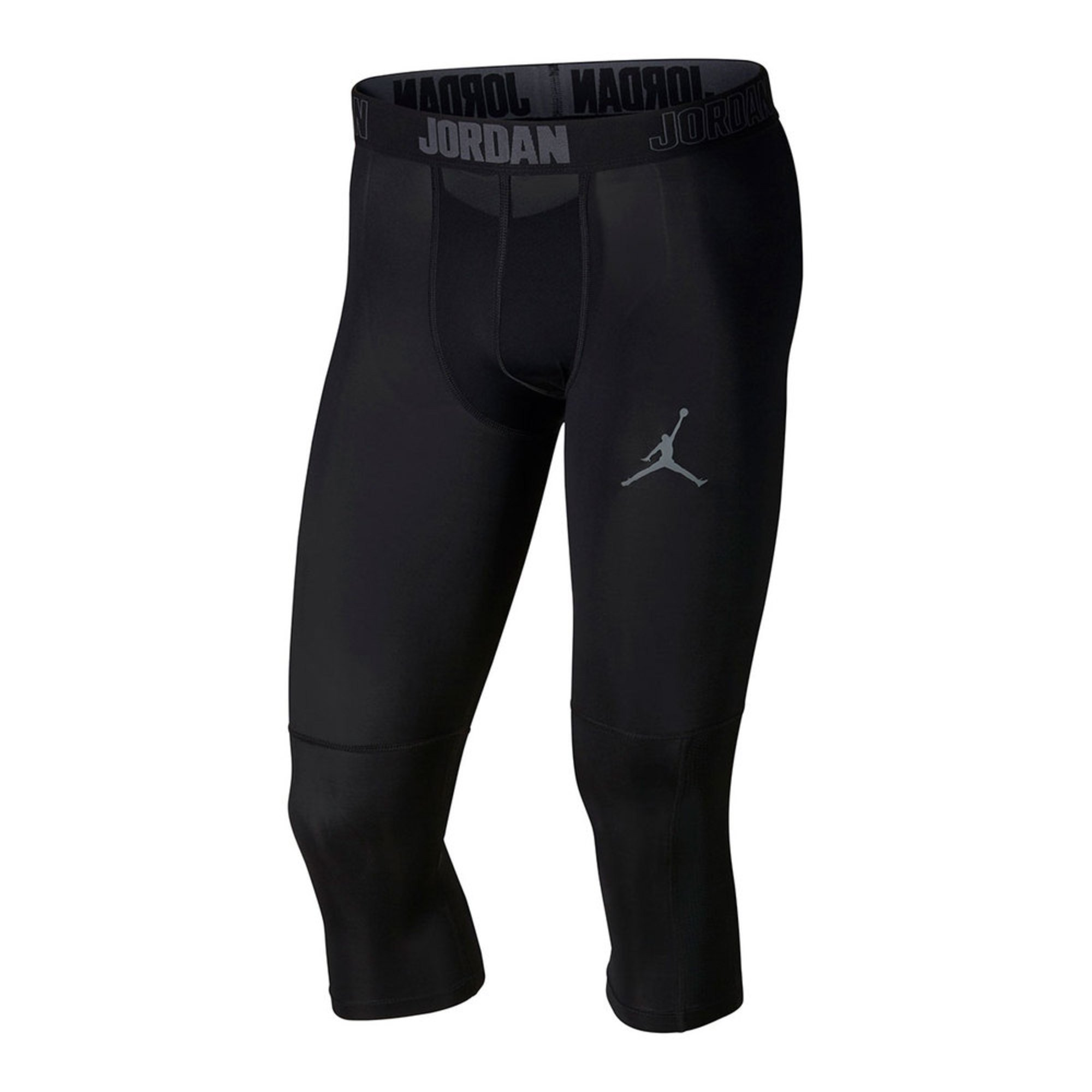 588d15399b6 Jordan Men's 23 Alpha Dry 3/4 Tights In Black | Activewear Leggings ...