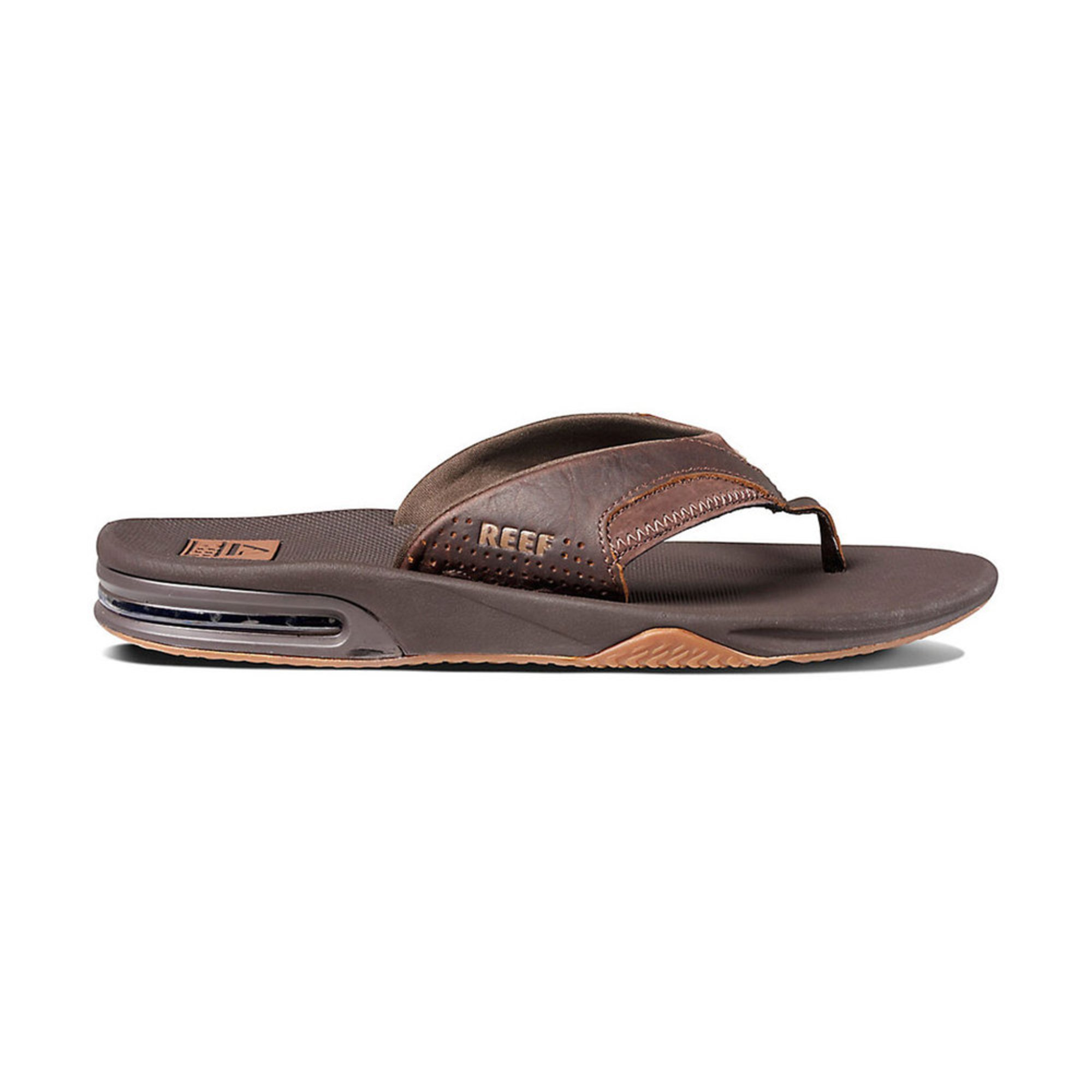 773adeabcc8 Reef. Reef Men s Leather Fanning Sandal