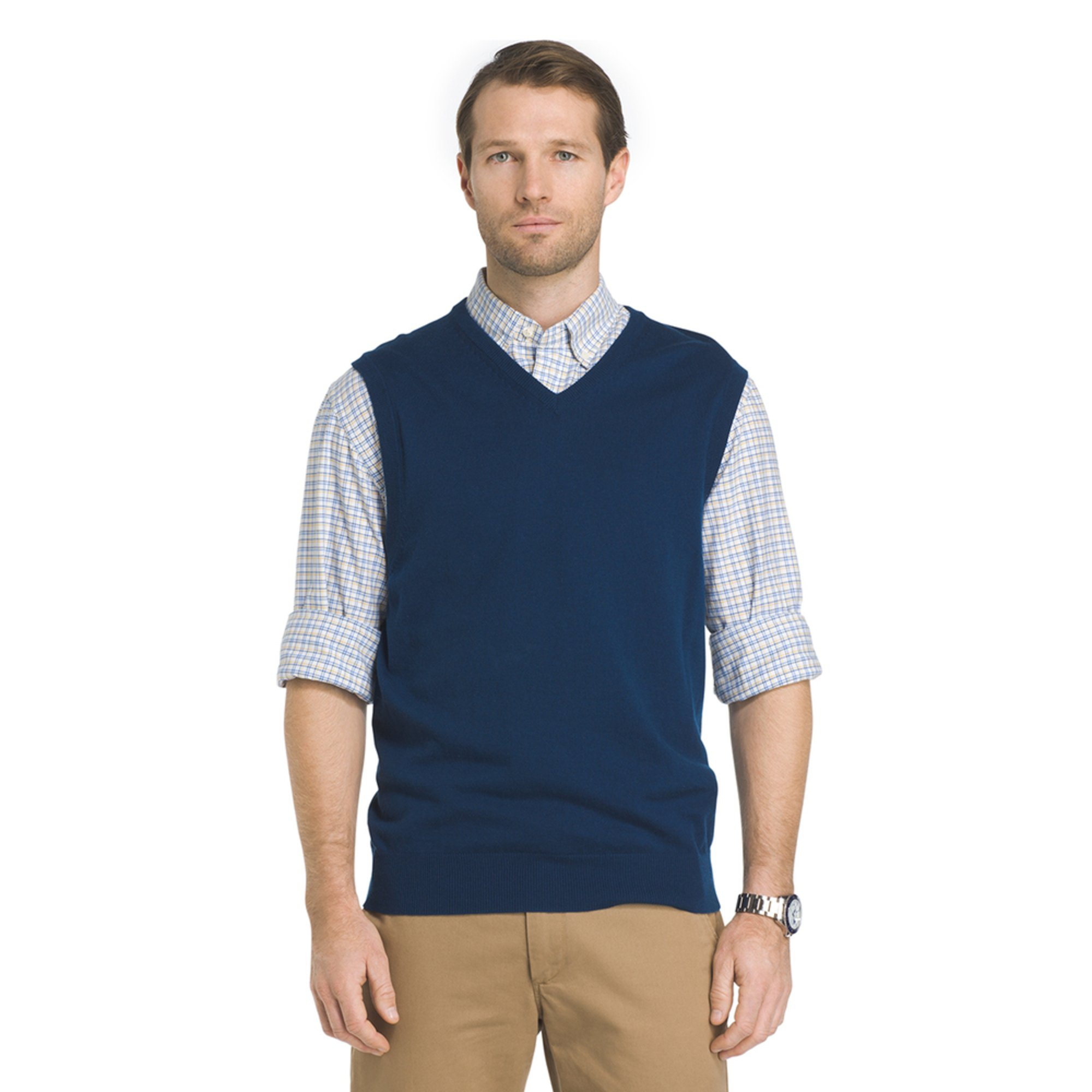 Izod Men's Heritage Essential Sweater Vest | Men's Apparel ...