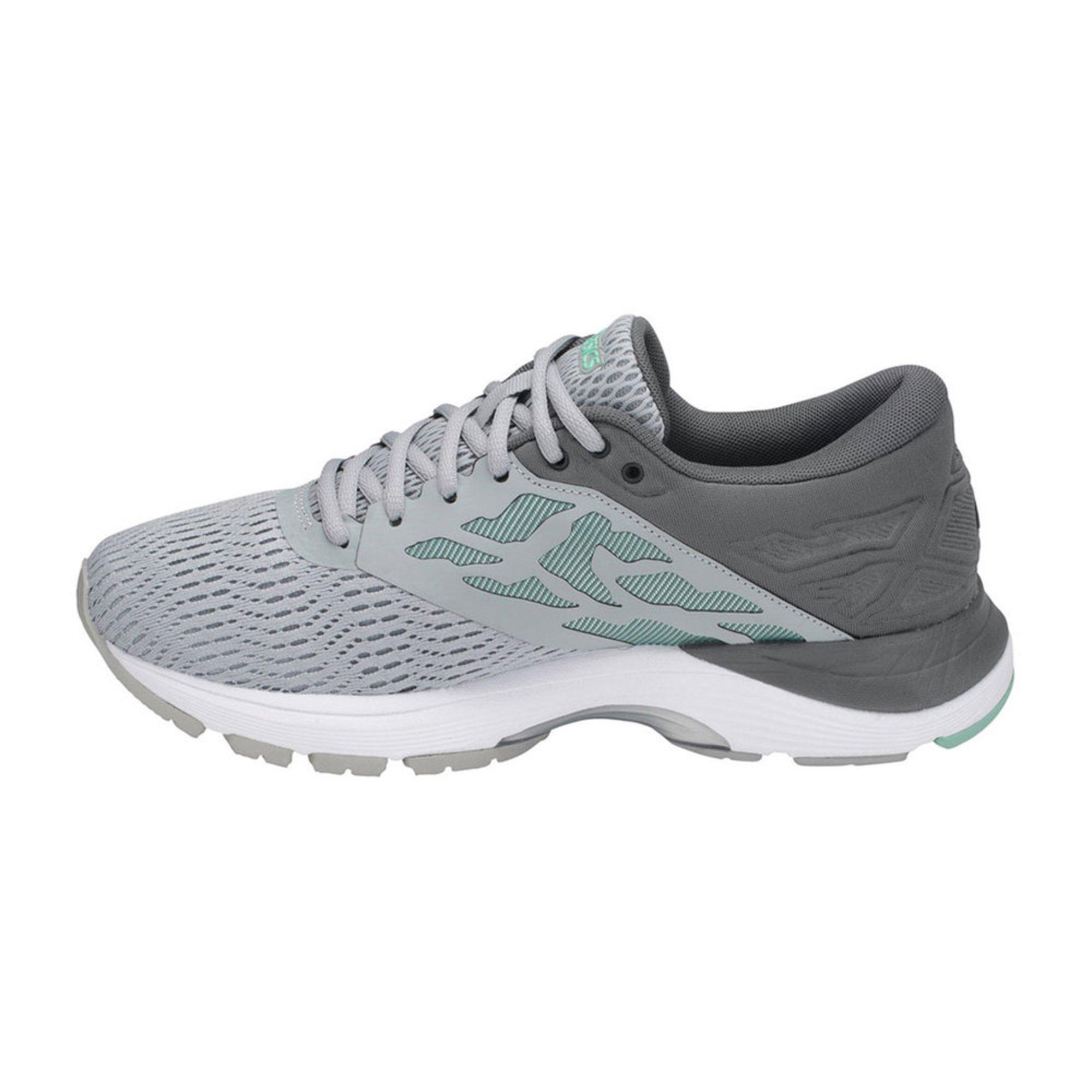 Chaussure Flux de course Asics Gel Moyen Flux 11155 5 pour Femme Gris Moyen/ Blanc/ Opale 65d0b8e - coconutrecipe.info