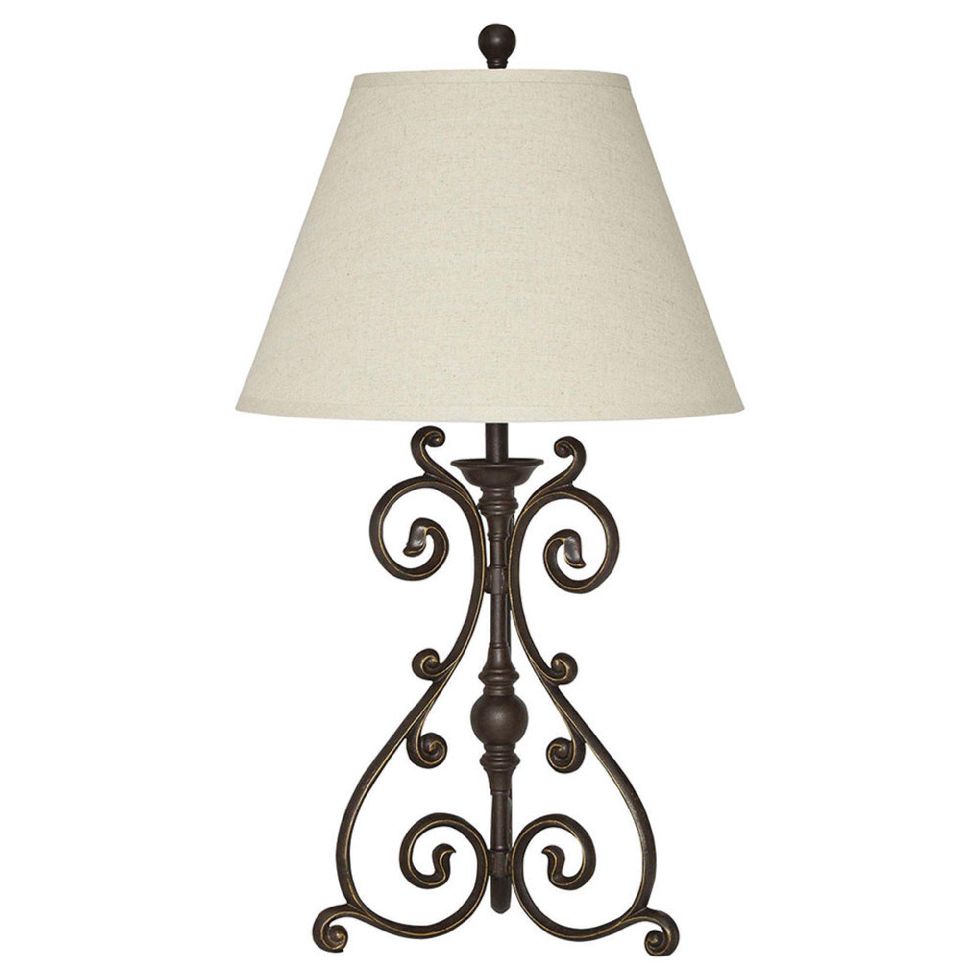 Ashley. Signature Design By Ashley Akello Metal Table Lamp, Bronze Finish  ... Gallery