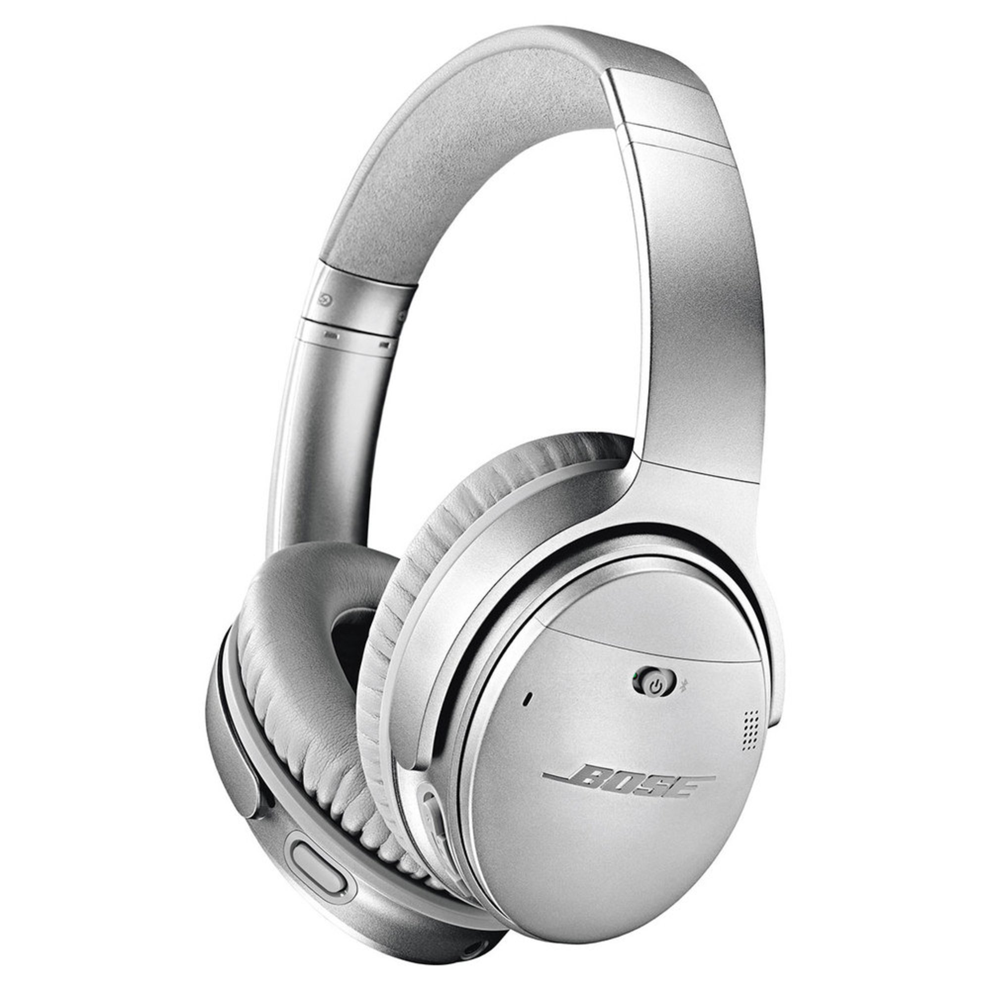 e7af5e5363e Bose Qc35 Wireless Headphones Silver | Over-ear Headphones ...