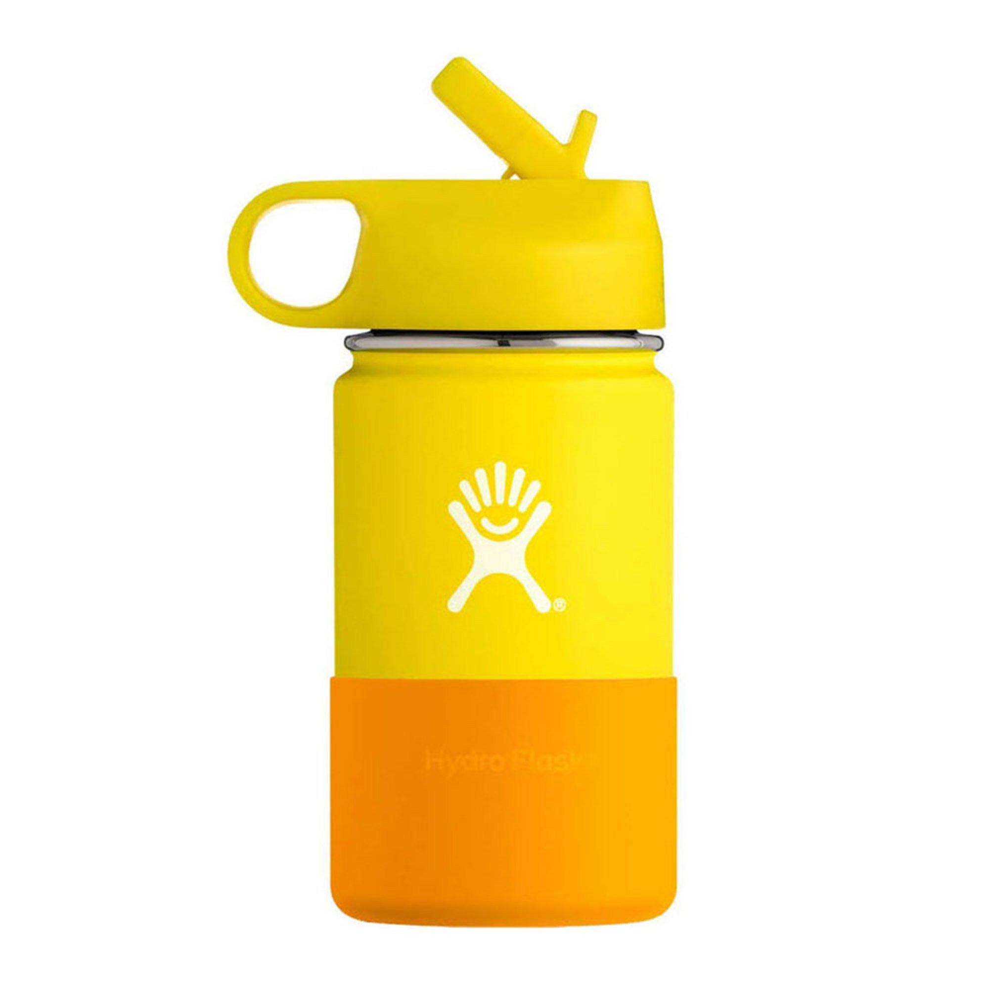 Hydro Flask Kids 12 Oz Widemouth Hydration Bottle Lemon