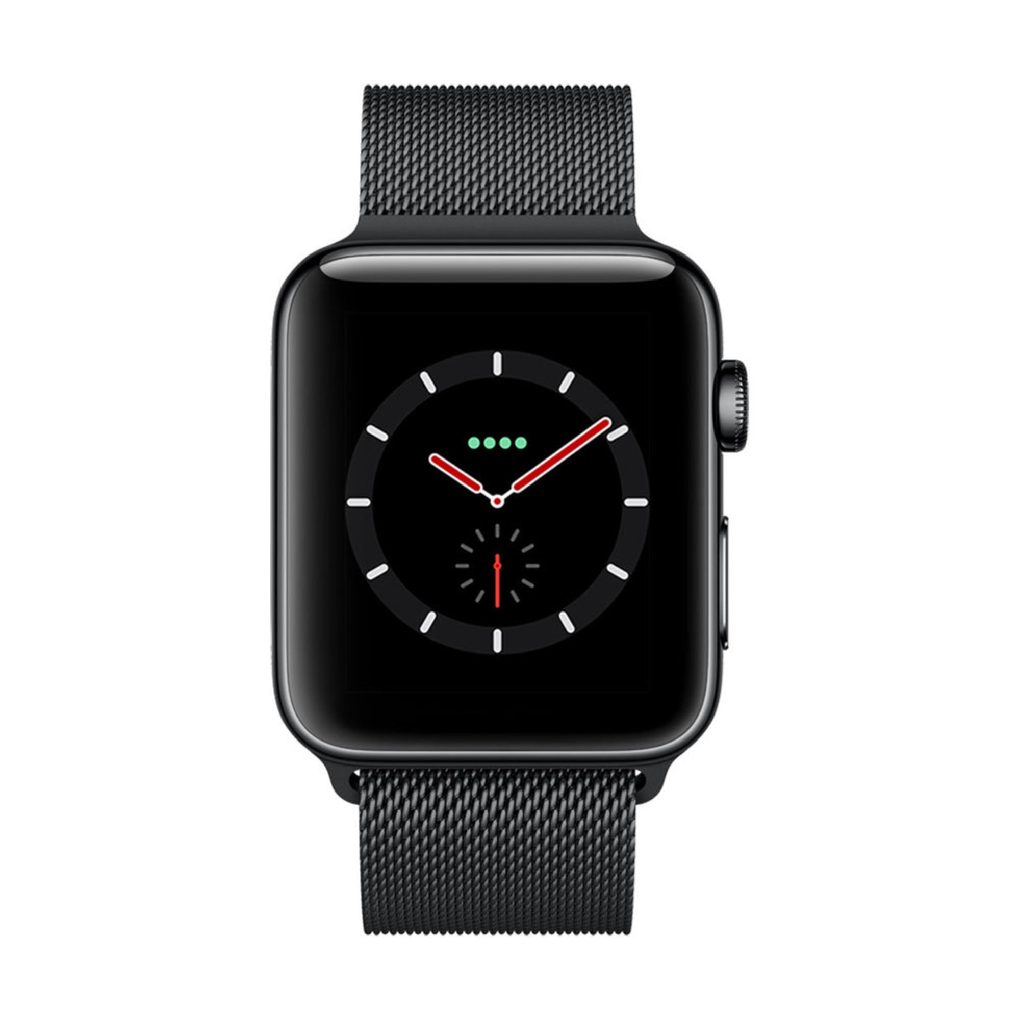 Apple Watch Series 3 Gps Cellular Stainless Steel Case With Milanese