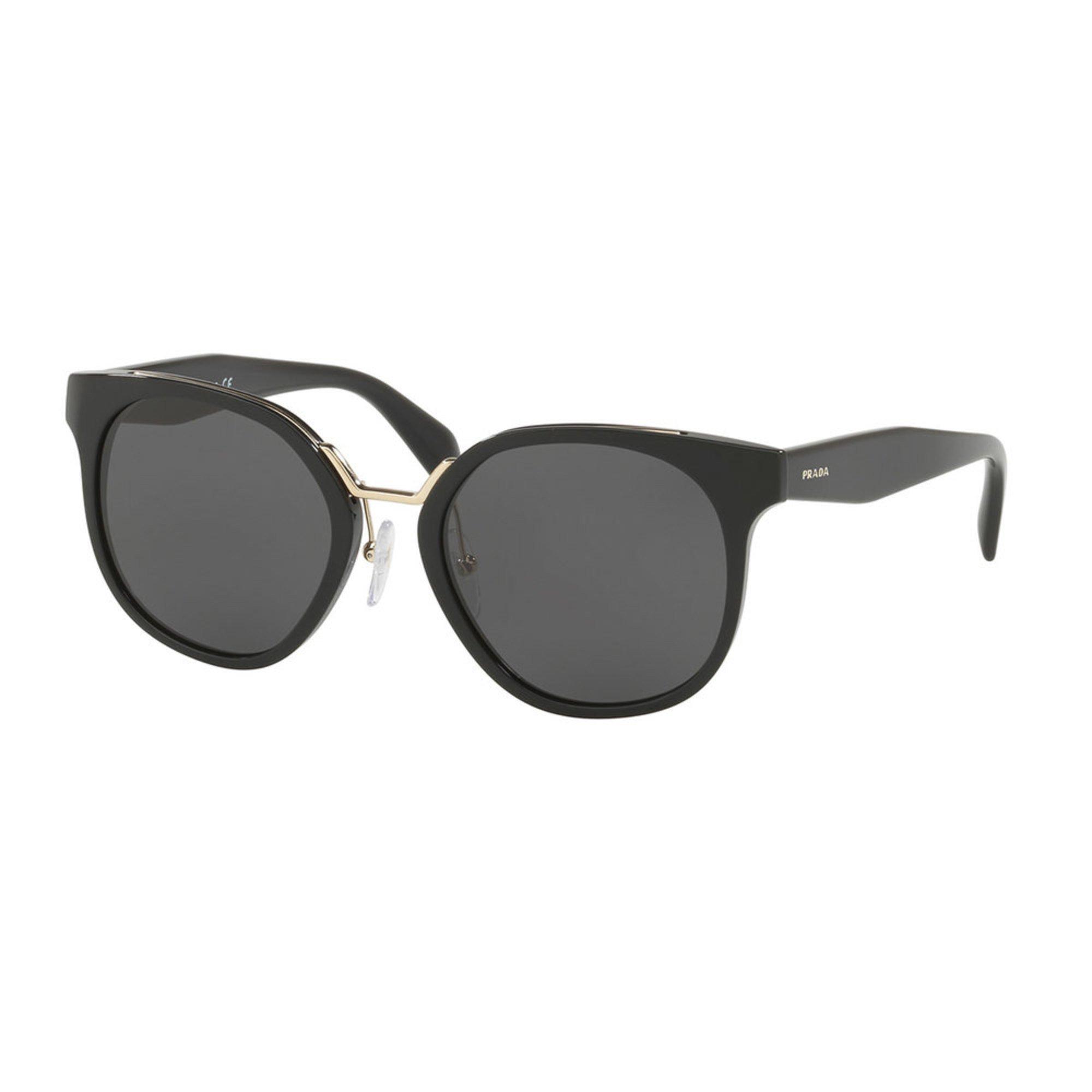303fdf3e56ba Prada Women s Black Grey Sunglasses 53mm