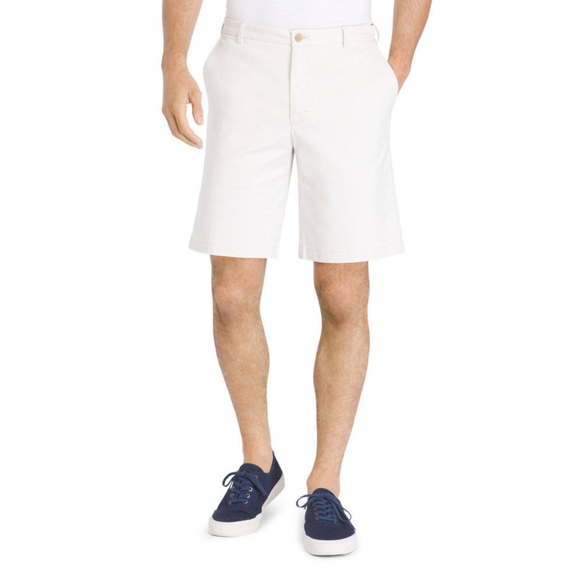 33b092d73913 Izod Men s Flat Front Saltwater Chino Shorts