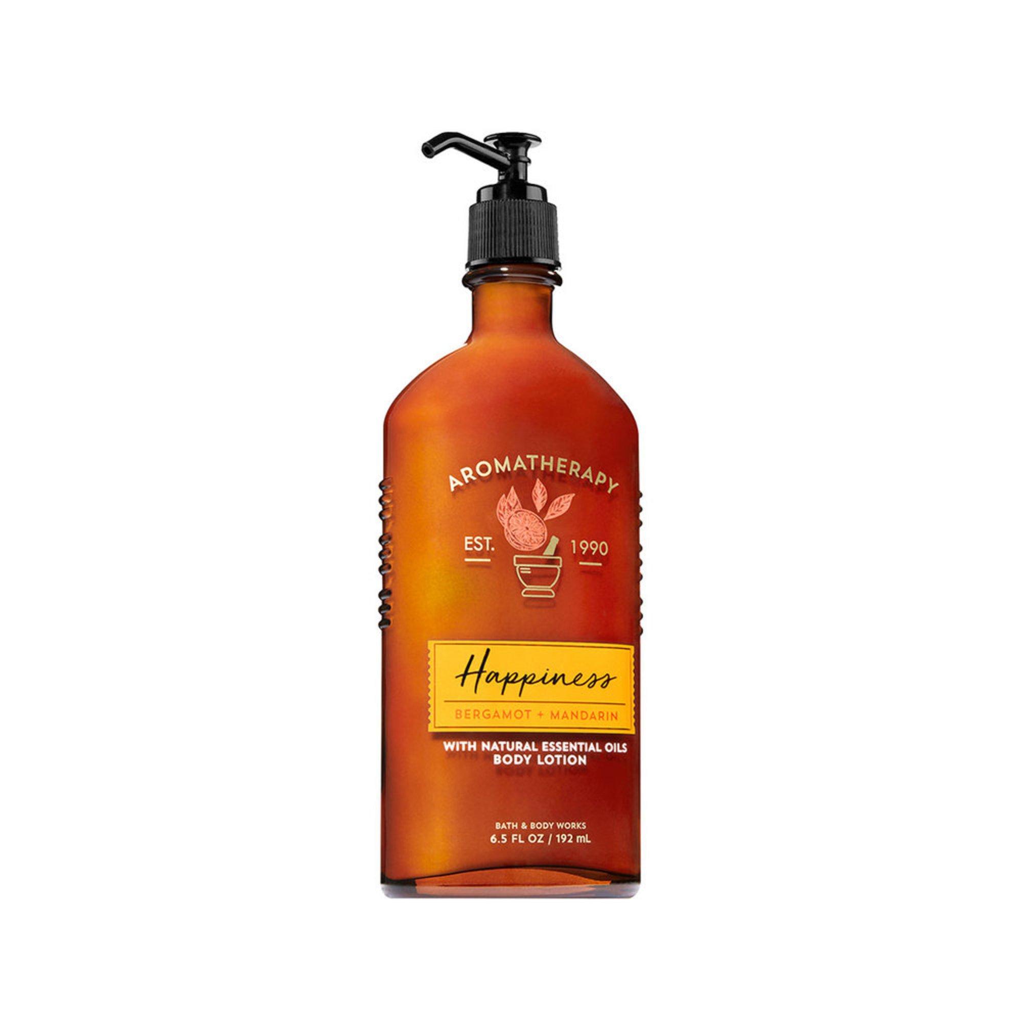 7ad2b68b97 Bath & Body Works Aromatherapy Happiness - Bergamot & Mandarin Body ...