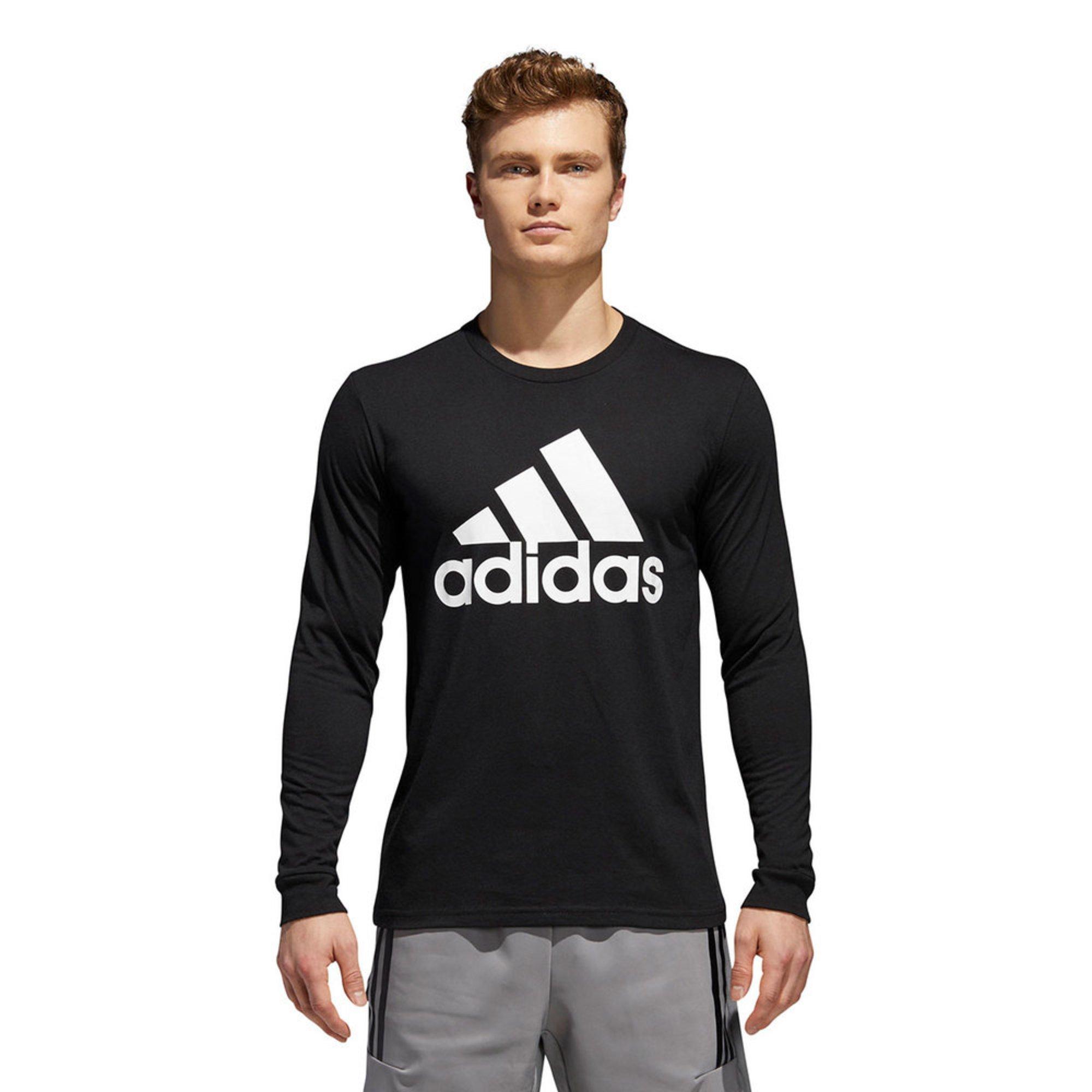 f0f1b94c3 Adidas Men s Long Sleeve Badge Of Sport Classic Tee