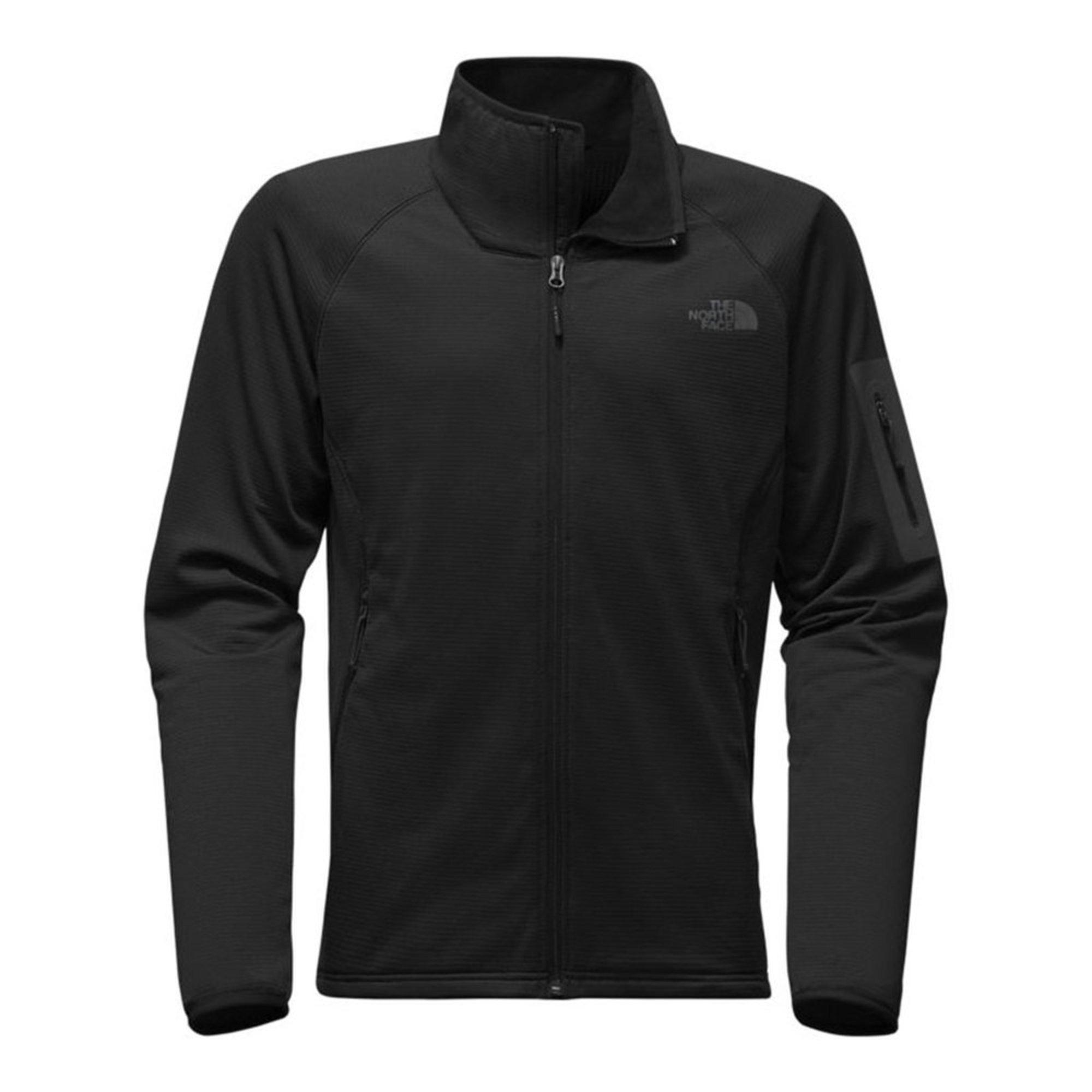 66e034a9f The North Face Men's Borod Grided Fleece Full Zip Jacket