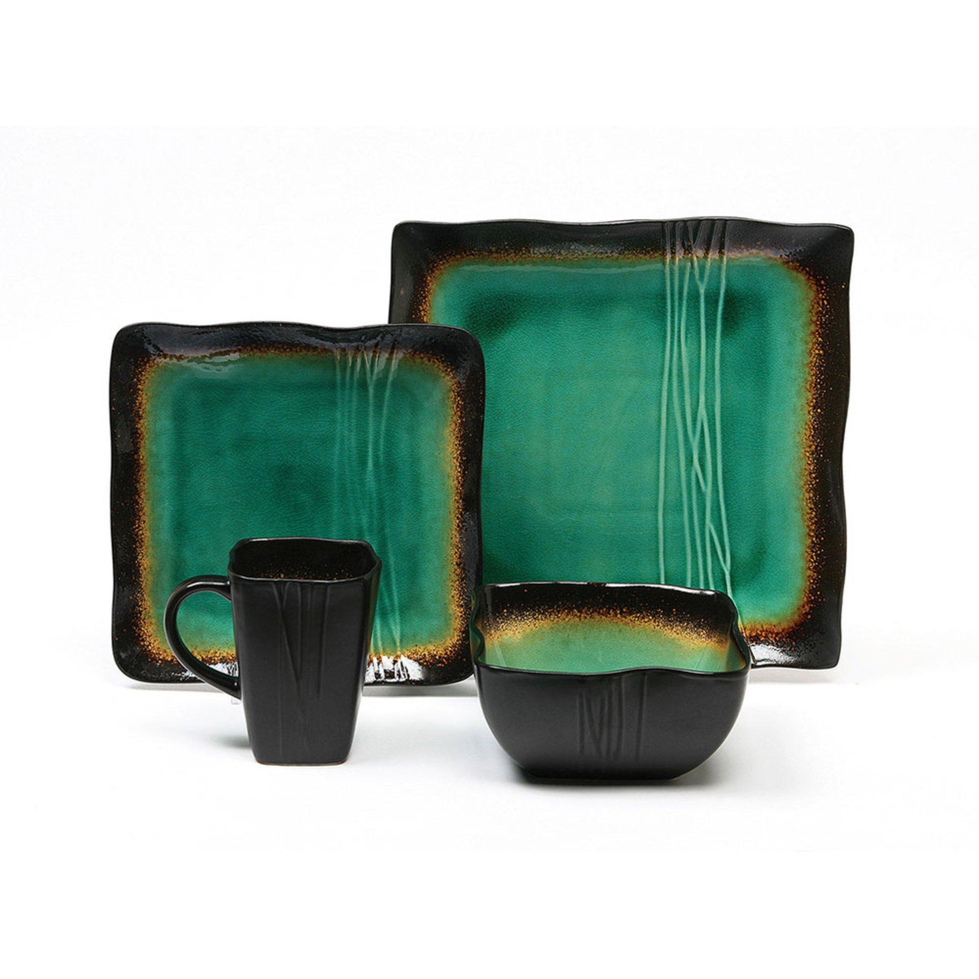 Baum Galaxy Jade 16-piece Dinnerware Set   Dinnerware Sets   For The ...