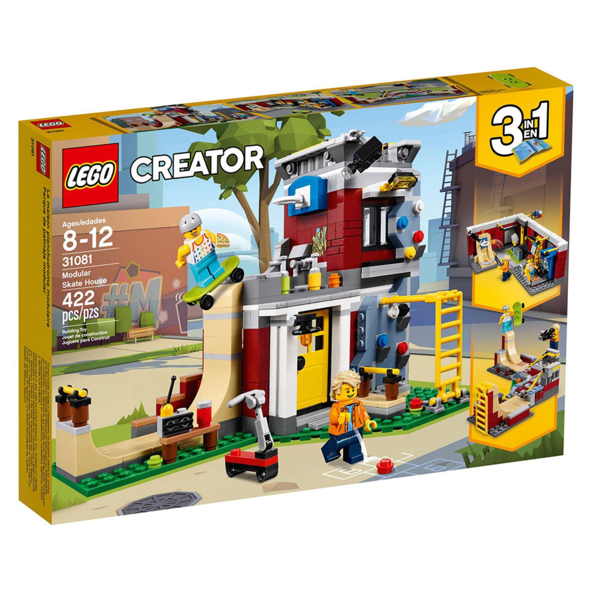 lego creator modular skate house 31081 building sets. Black Bedroom Furniture Sets. Home Design Ideas