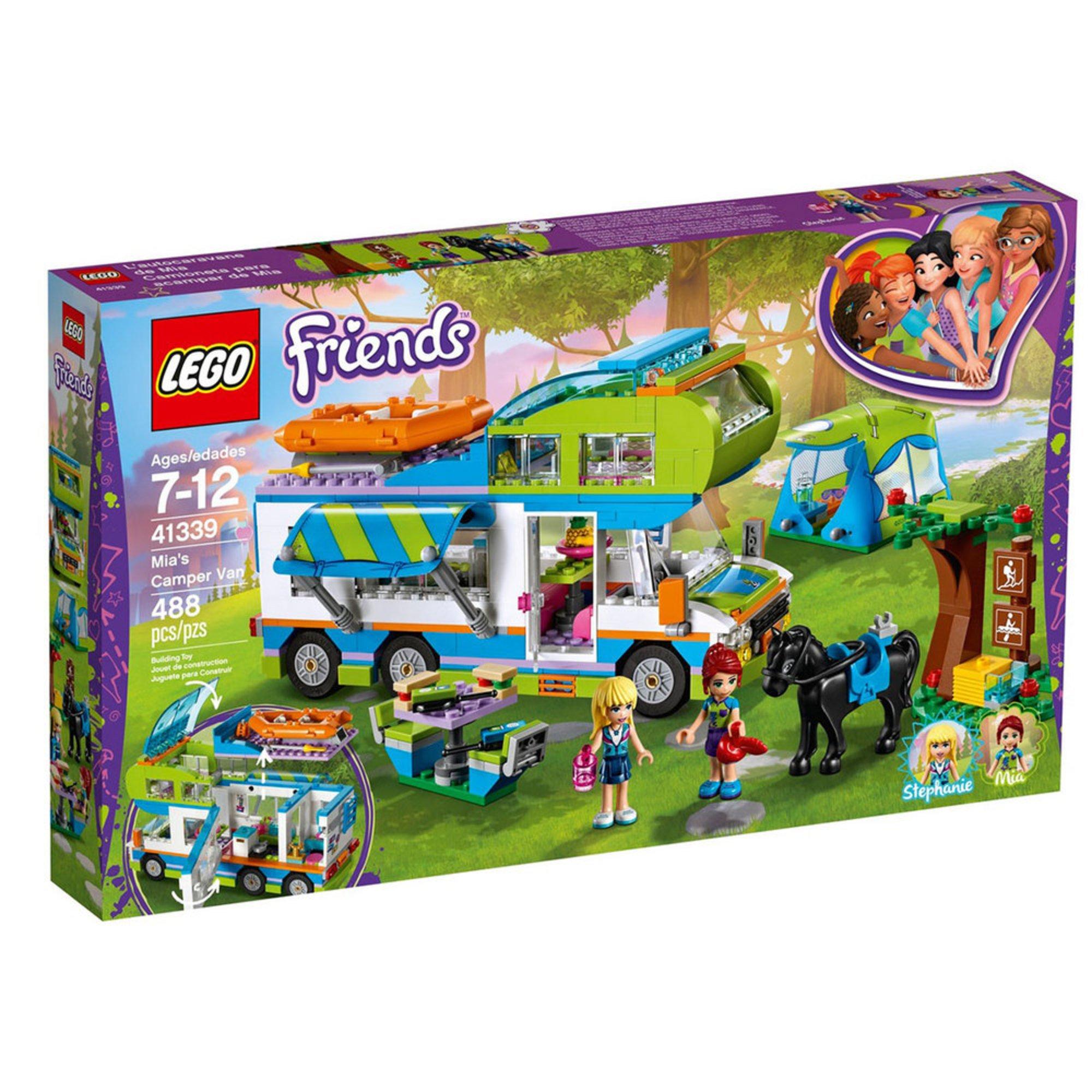 Lego Friends Mia's Camper Van (41339) | Building Sets ...