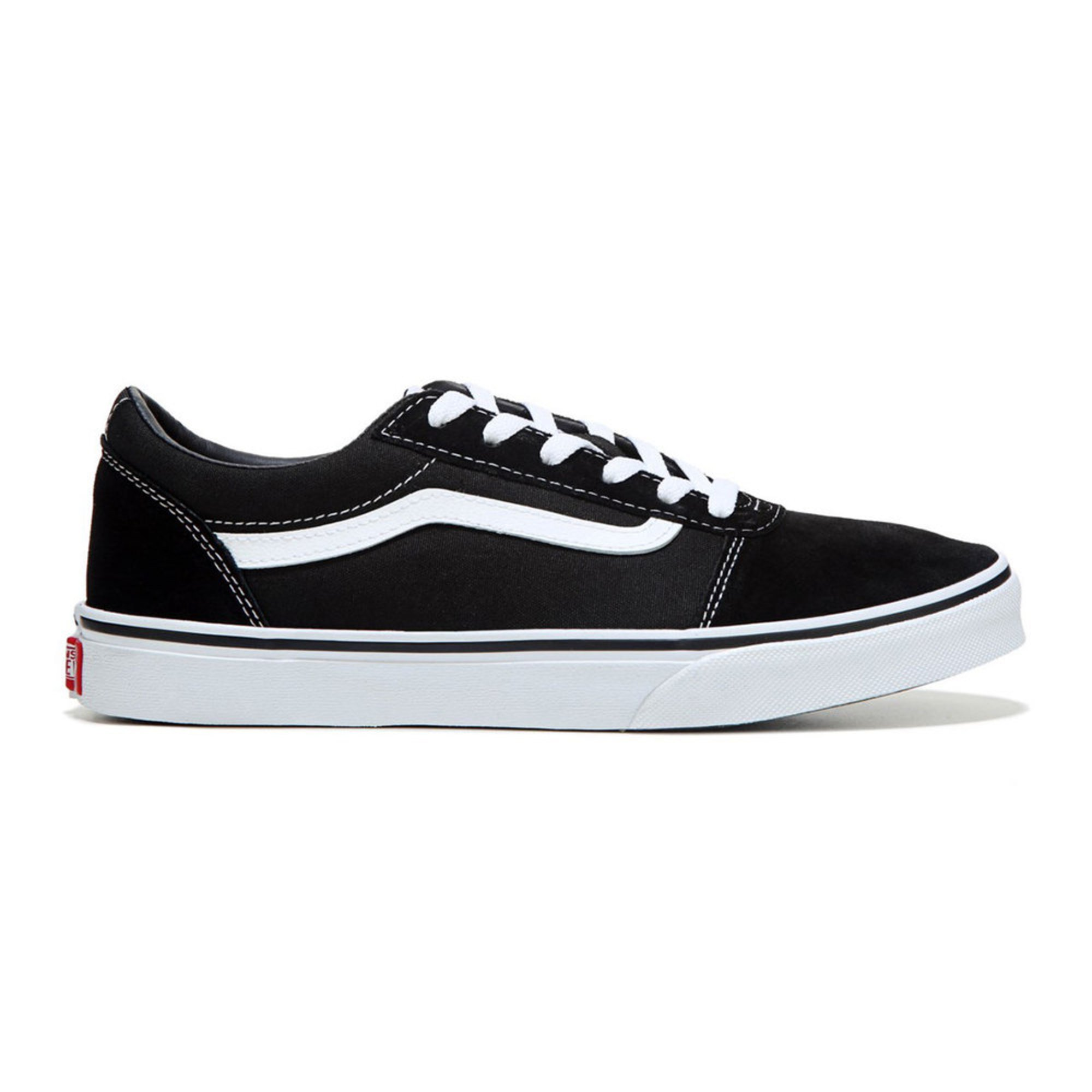 e85524653e52 Vans. Vans Boys Ward Suede Canvas Skate Shoe (Youth)