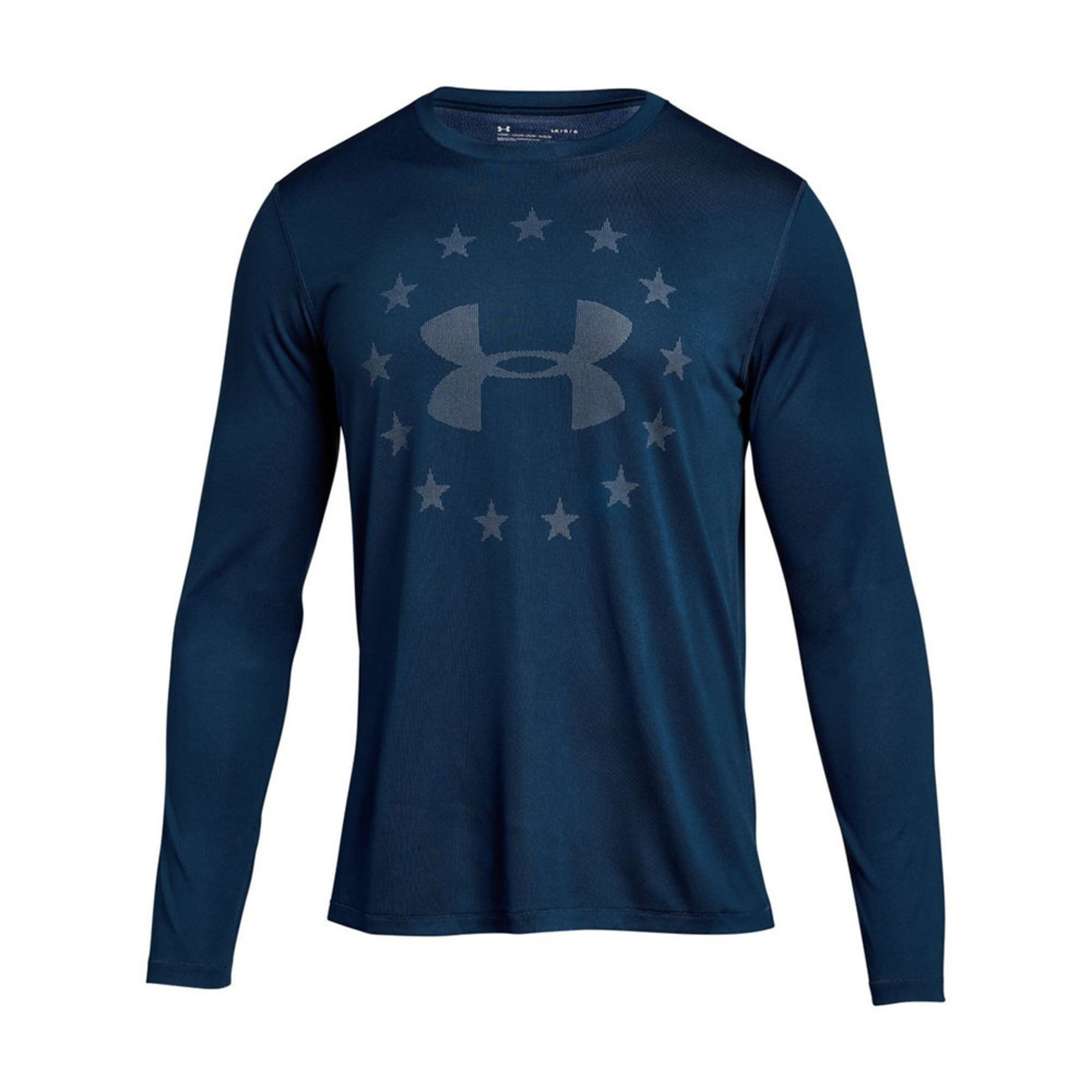 33344318e1e67 Under Armour Men s Freedom Logo Jacquard Long Sleeve Tee
