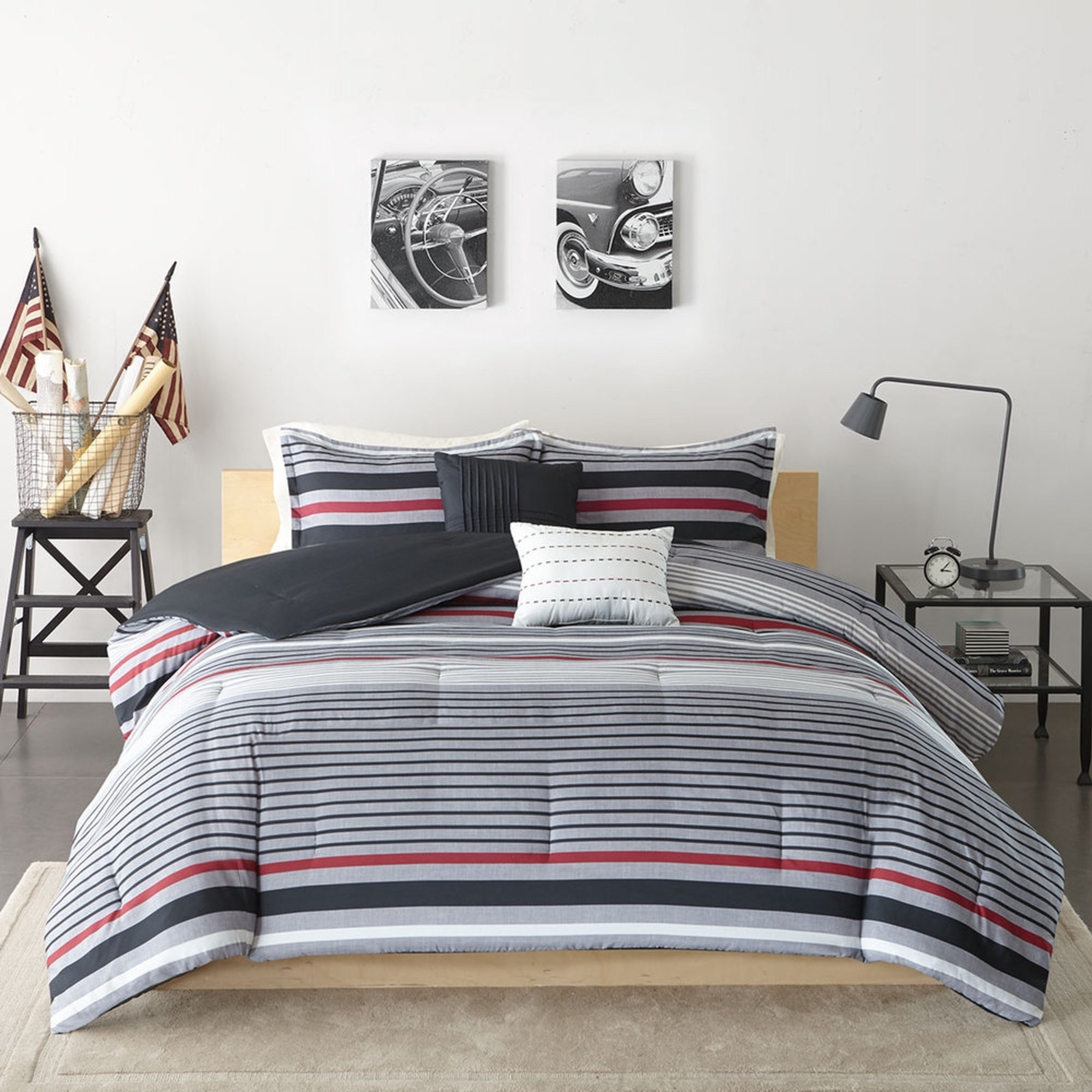 Intelligent Design Christopher 4 Piece Comforter Set Twin Xl