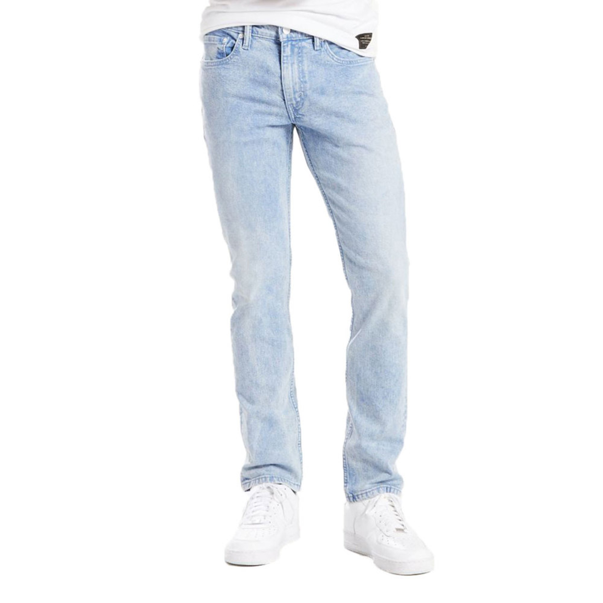 72b519d9 Levi's Men's 511 Slim Fit Denim Jeans In Washed Blue | Collection ...