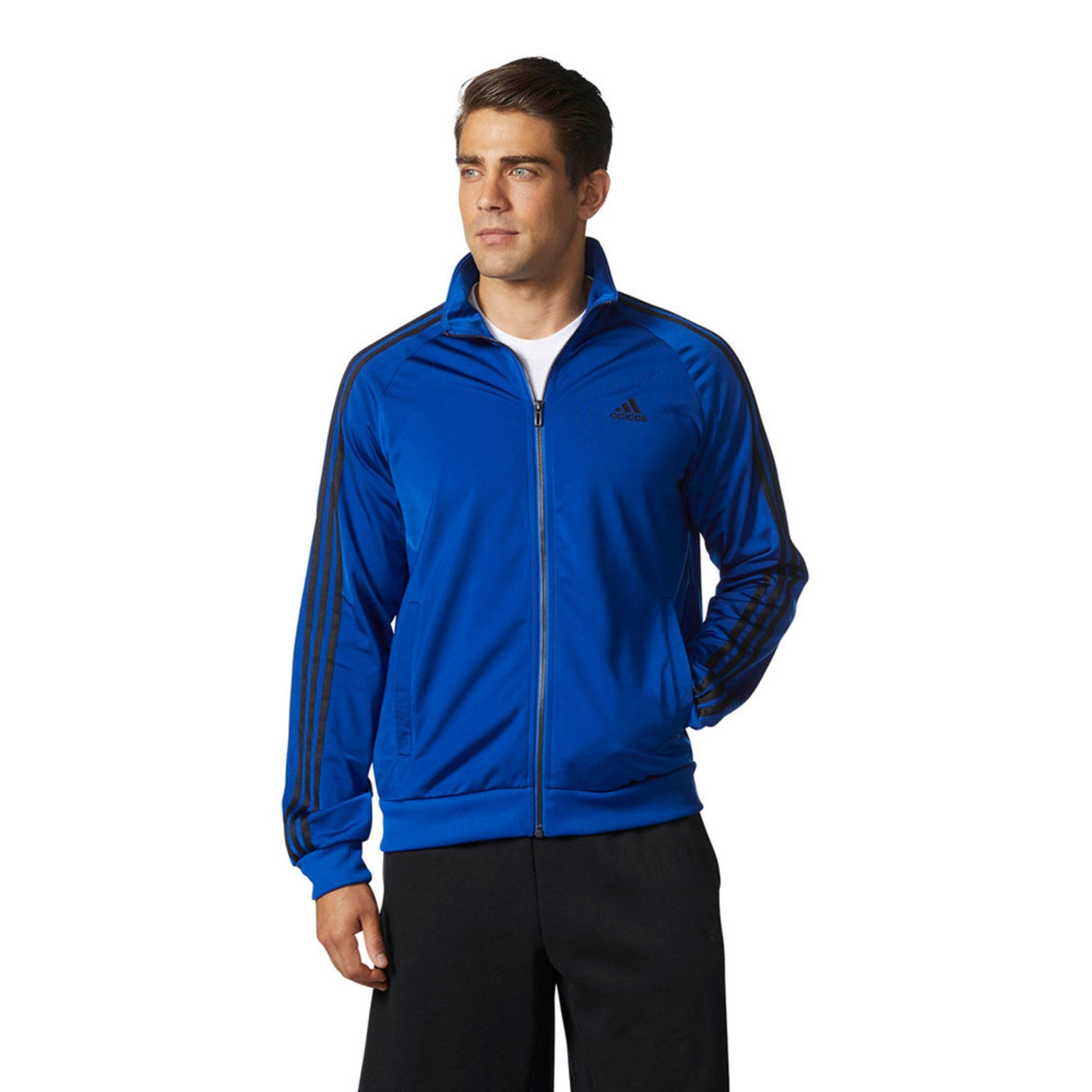 a906edee701f Adidas Men's Ess 3s Essentials Tricot Track Jacket | Active Jackets ...
