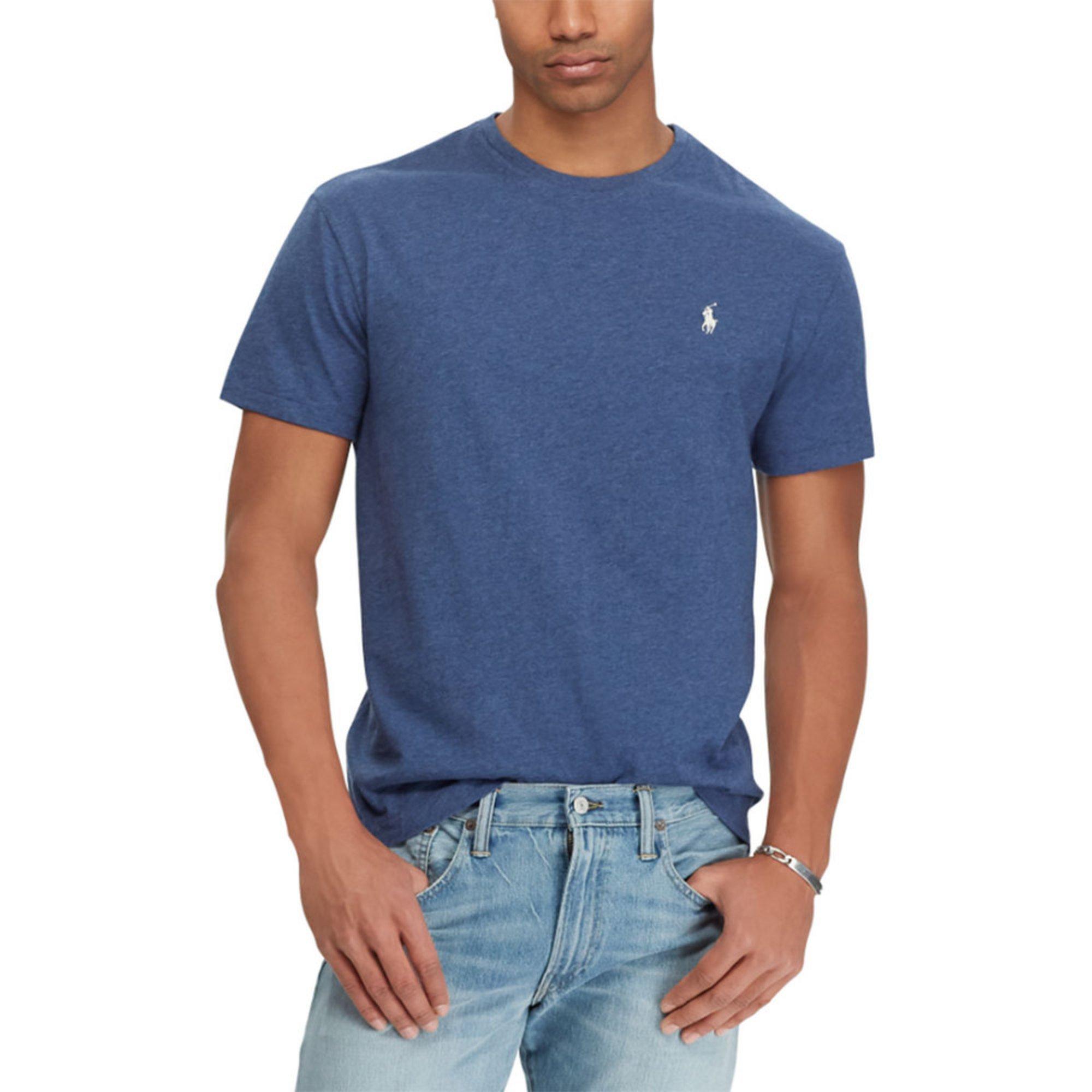 0713af9db7fc Polo Ralph Lauren. Polo Ralph Lauren Men s Short Sleeve Tee Crew Neck Pocket  ...