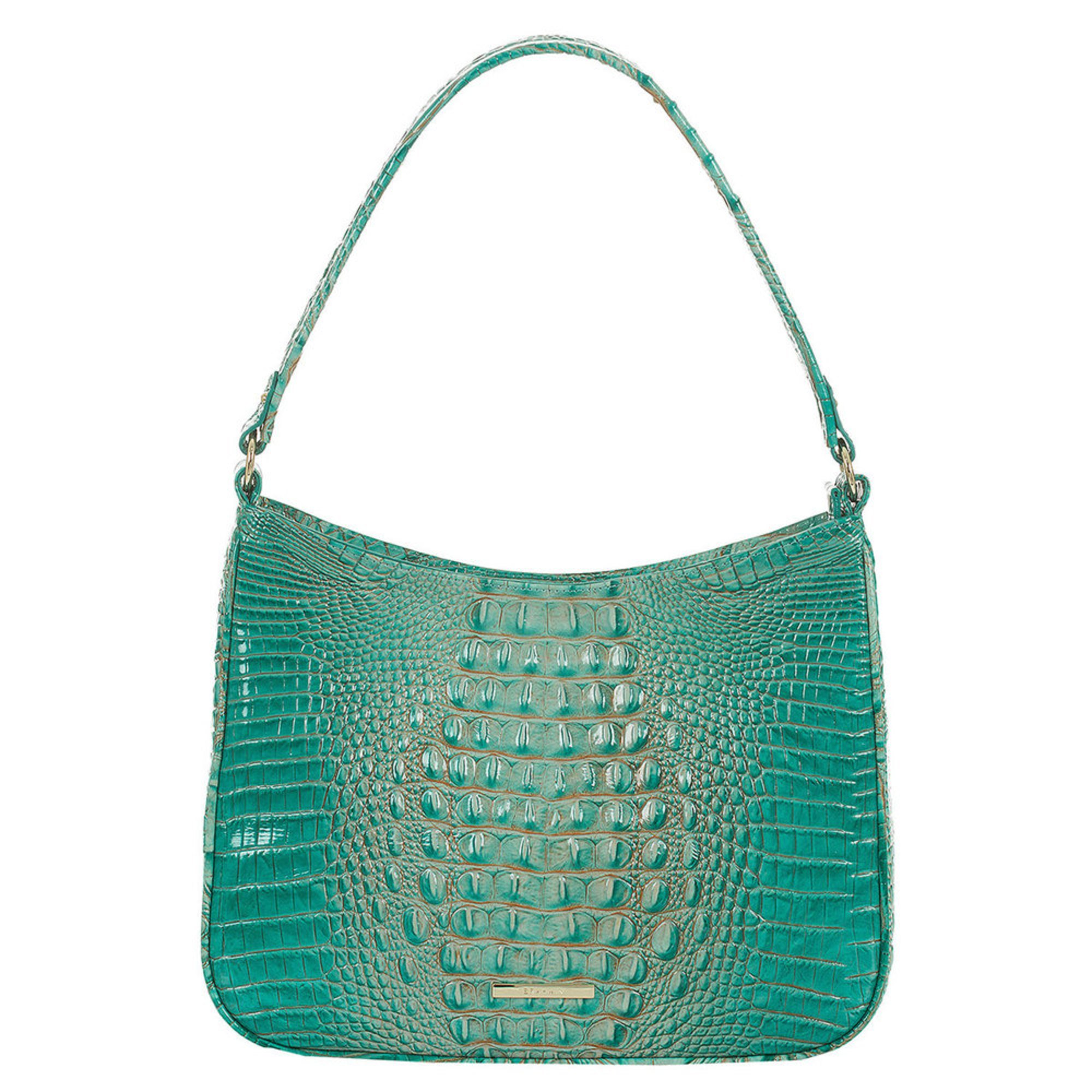 Brahmin Noelle Shoulder Bag Turquoise Melbourne