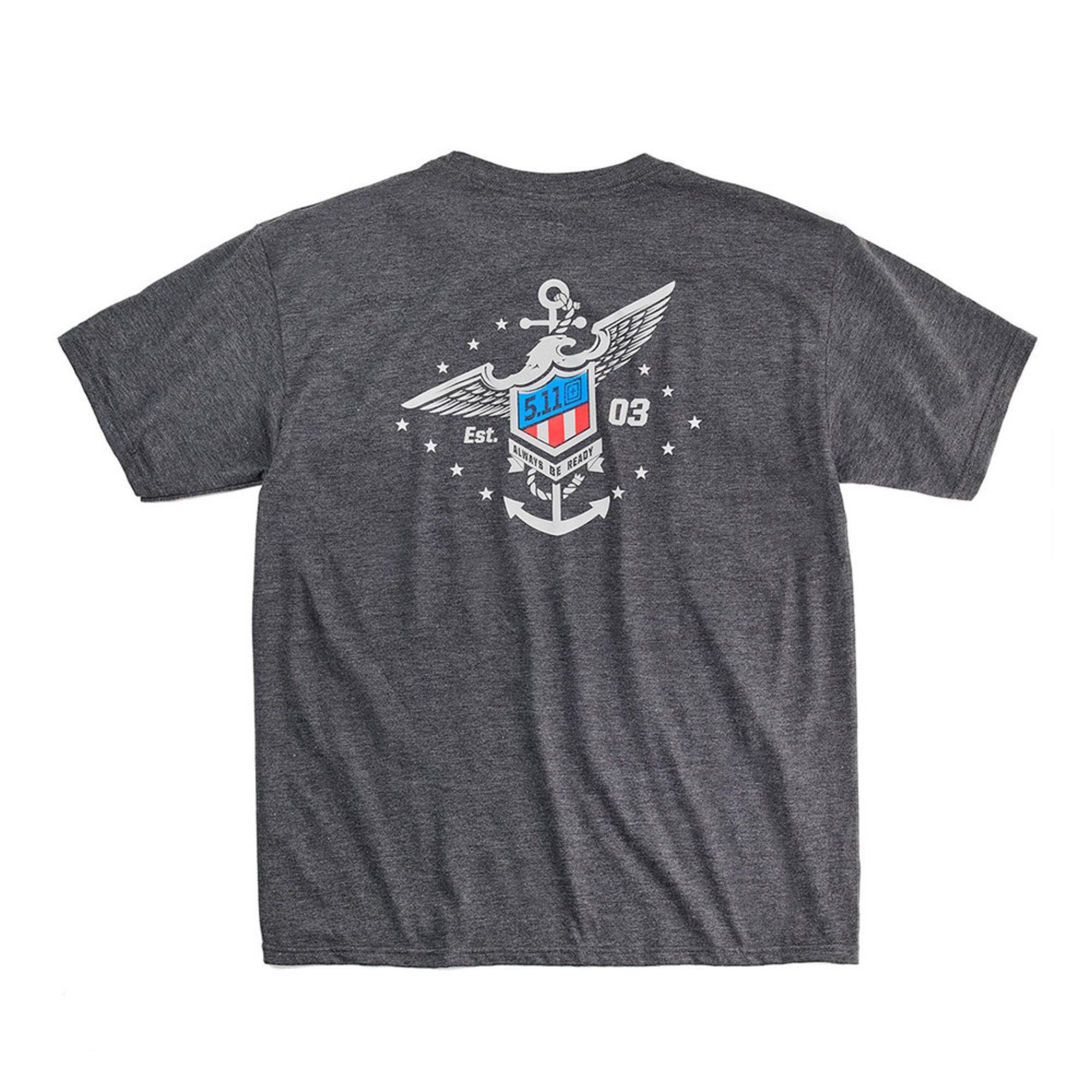 5.11 Tactical Men\'s Exclusive Navy Freedom Eagle Tee | Outdoor ...
