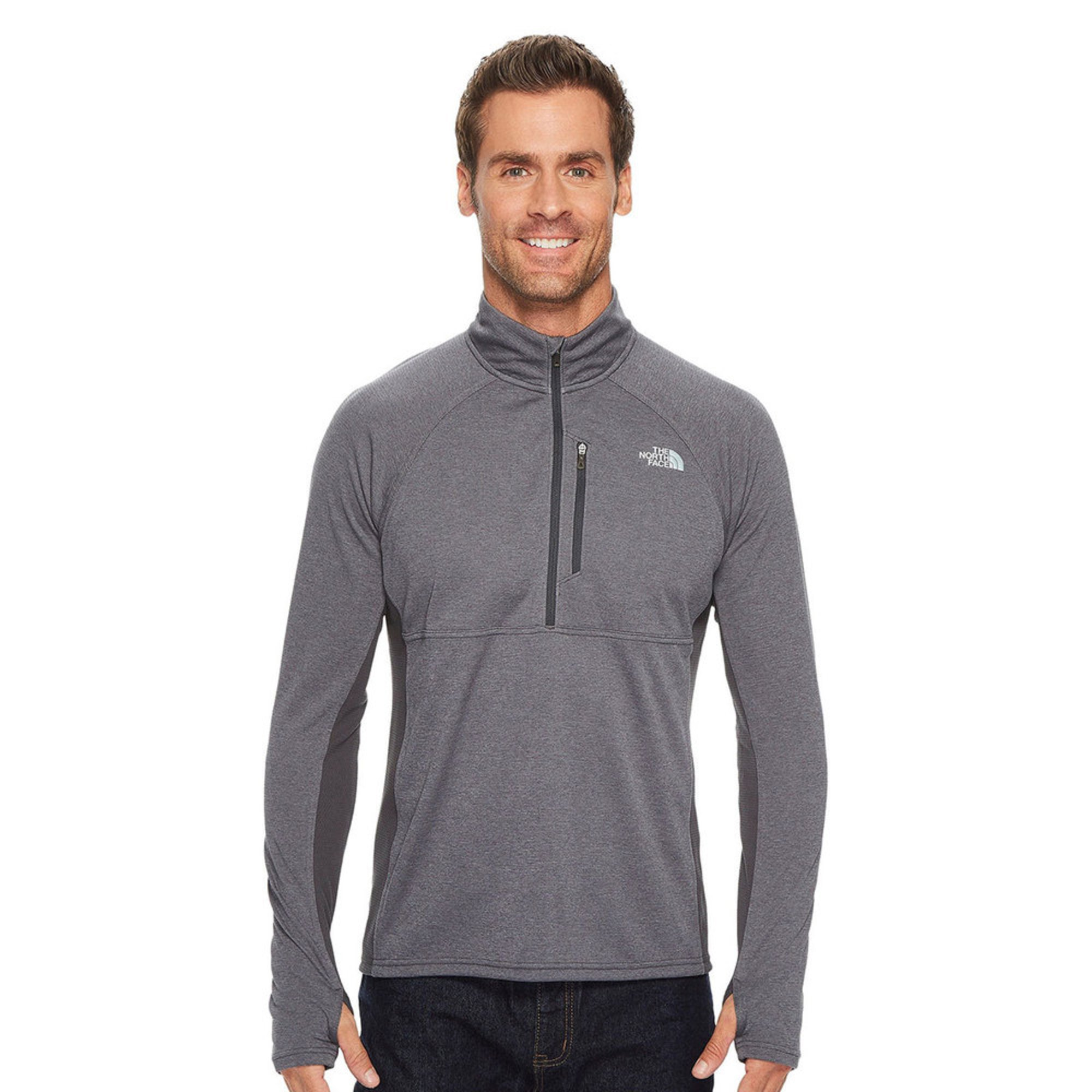 0a04c7b9e The North Face Men's Mountain Athletic Ambition Double Knit 1/4 Zip Pullover