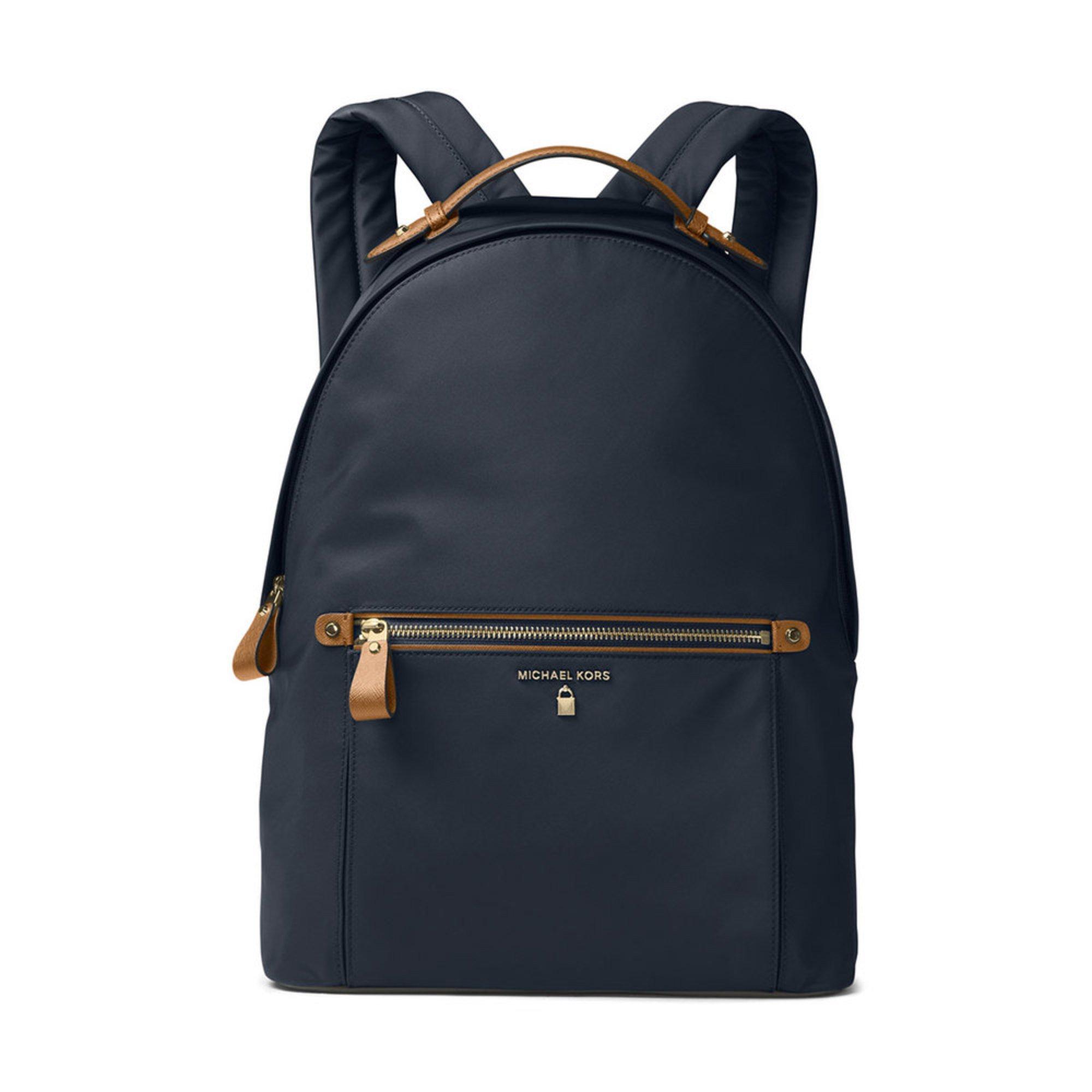 7c6b36e9e0ef Michael Kors Nylon Kelsey Large Backpack Admiral
