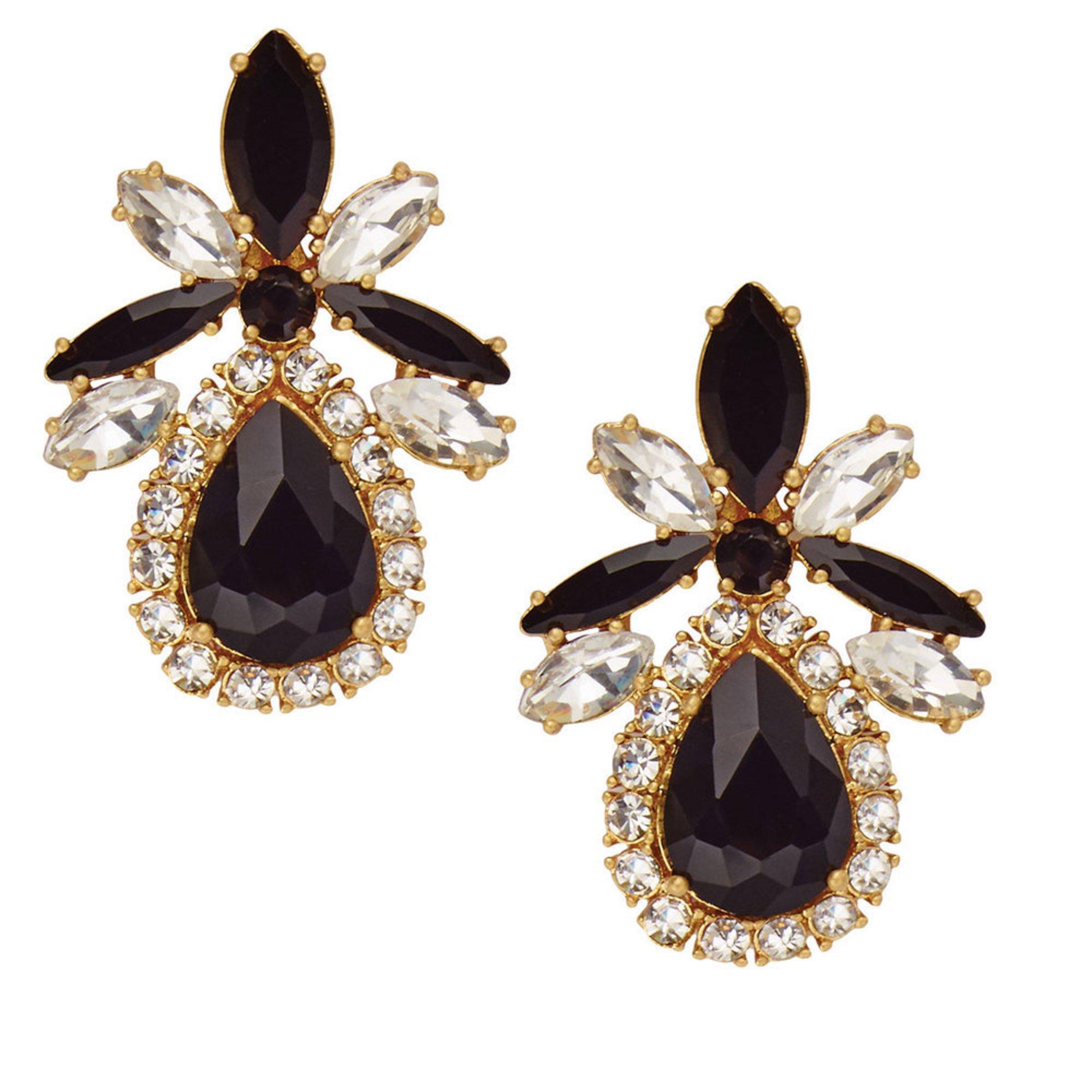 e877e276327b69 Kate Spade New York Glitzville Statement Studs Black Multi | Fashion ...
