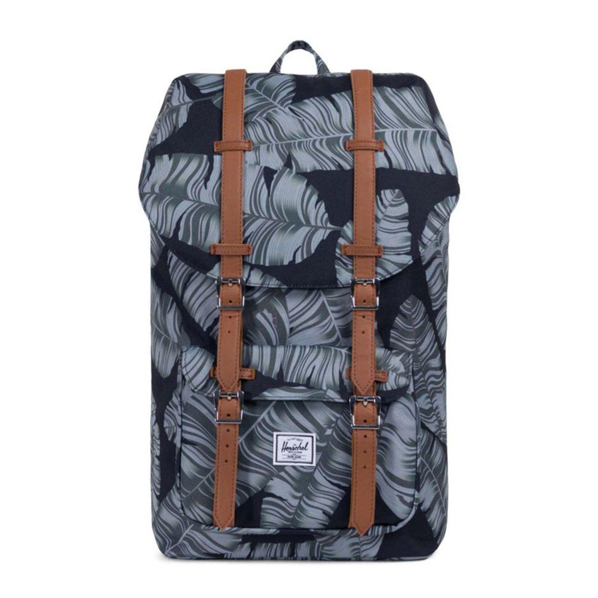 Herschel Little America Backpack- Black Palm  8f818ea2a62d4