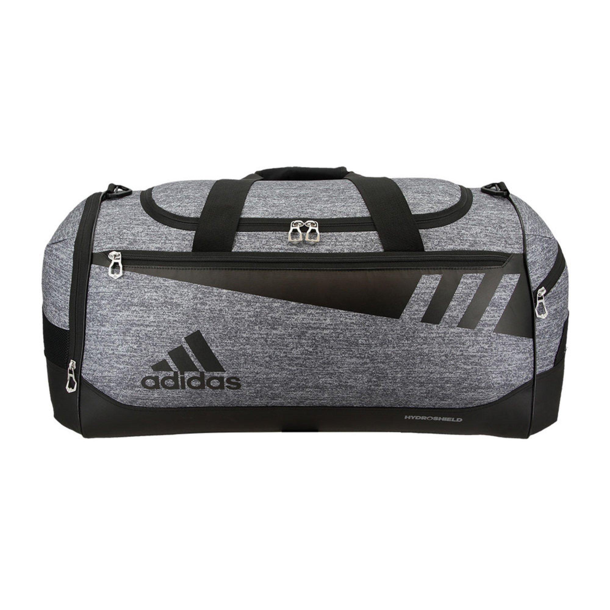 fe9e47455f Adidas Team Issue Medium Duffel- Onyx Jersey