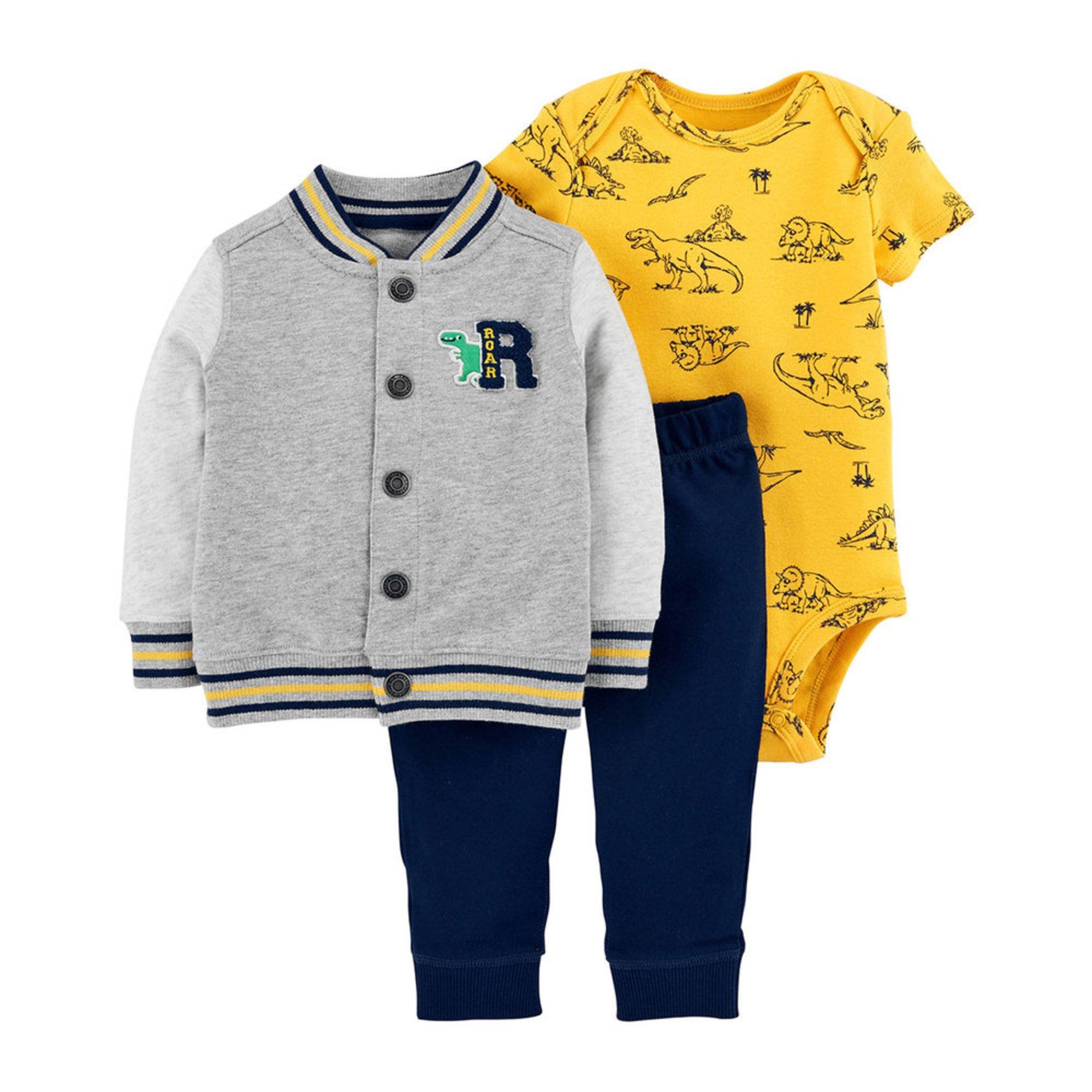 20cefc5530d9 Carter s Baby Boys  3-piece Cardigan Set