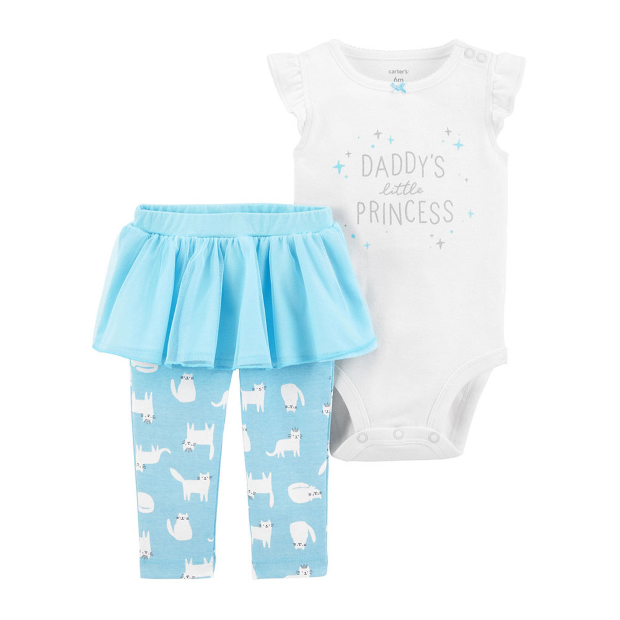 0a63a8f0783 Carter's Baby Girls' Bodysuit and Pant Set