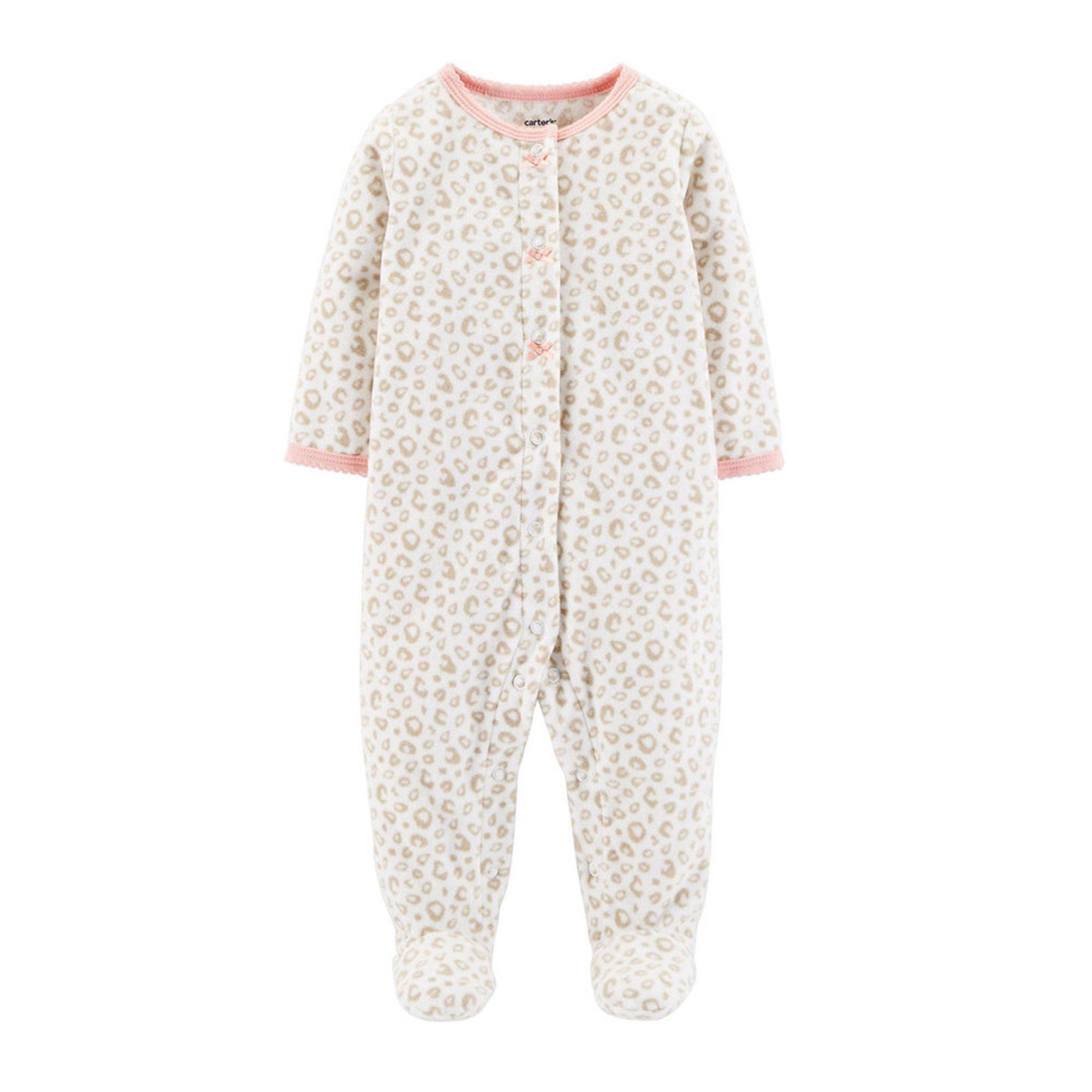 16d64778a6e7 Carter s Baby Girls  Micro Fleece Sleep N  Play