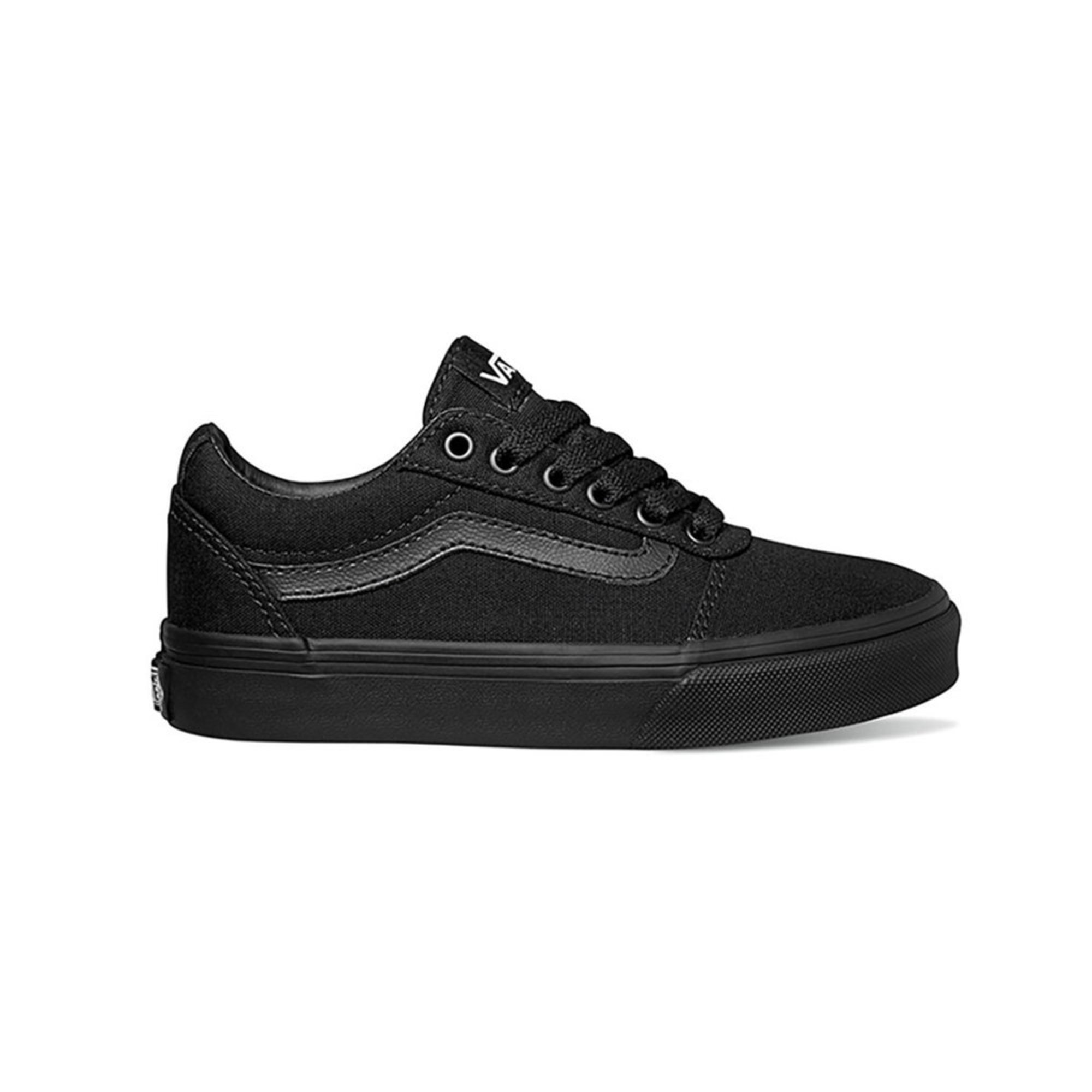4fe04d9ee933 Vans Boys Yt Ward Canvas Sneaker (youth)