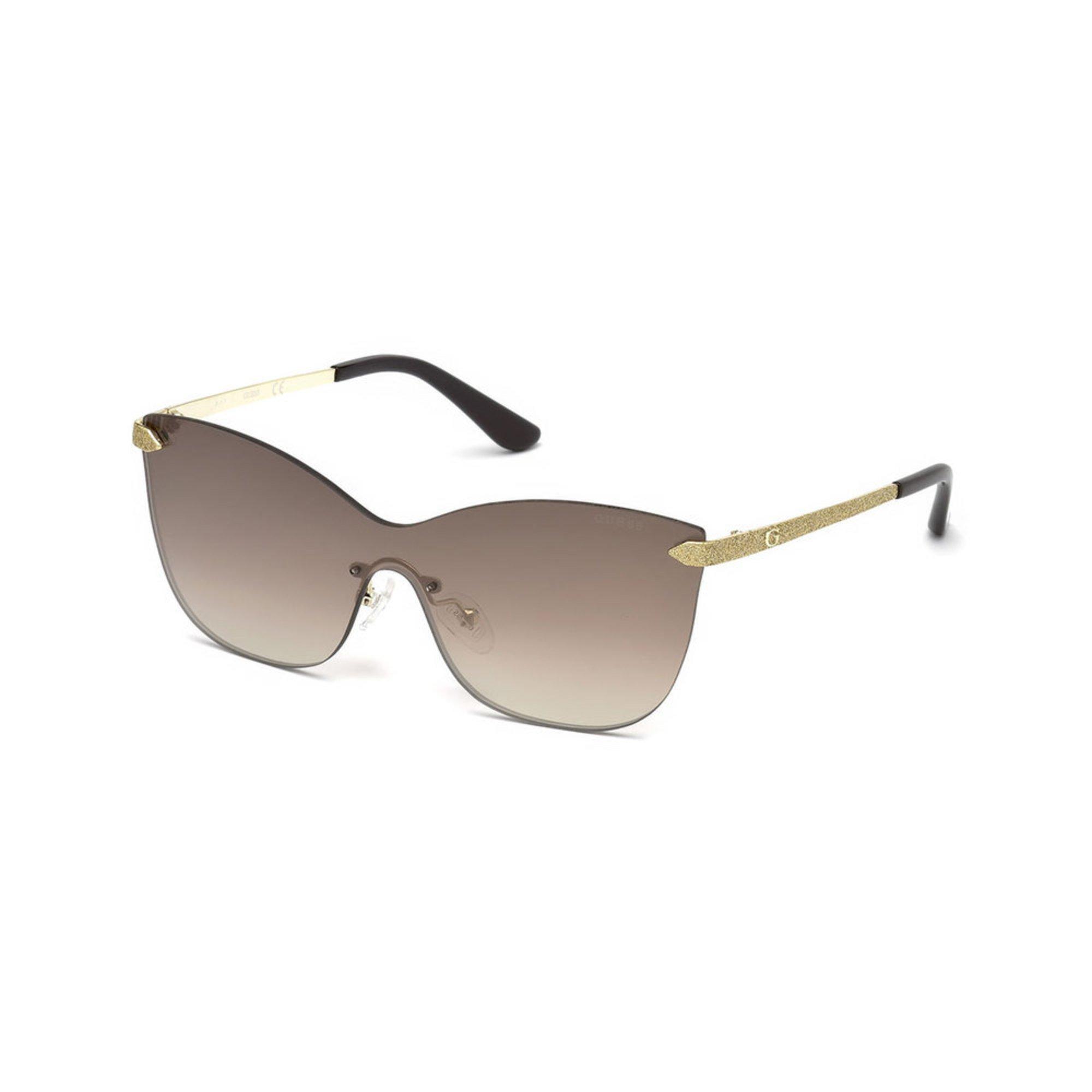 57781e2a591dc Guess. Guess Women s Shield Rimless Sunglasses