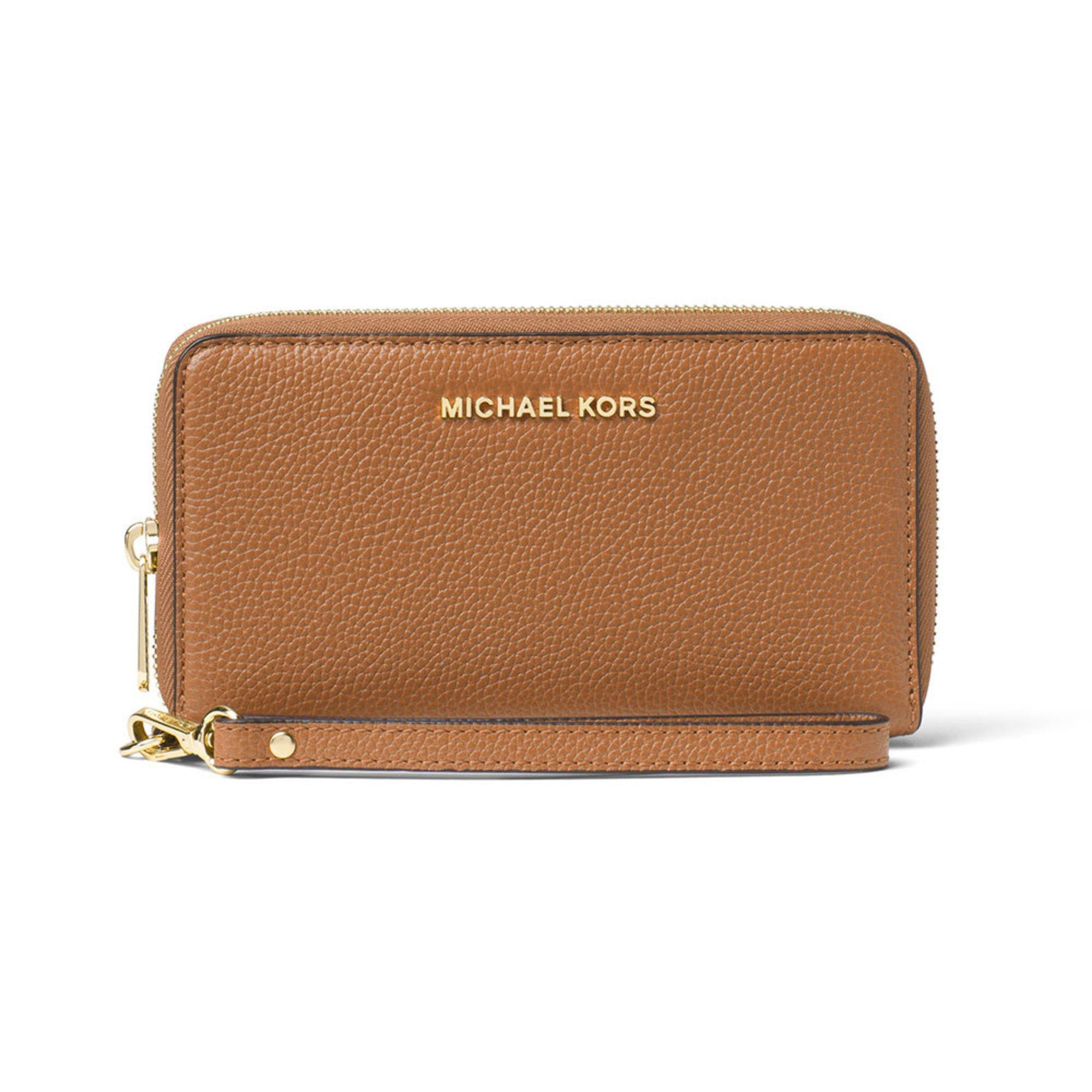 bb6dd0cf1ab3 Michael Kors Mercer Large Flat Multifunction Case Acorn   Wristlets ...