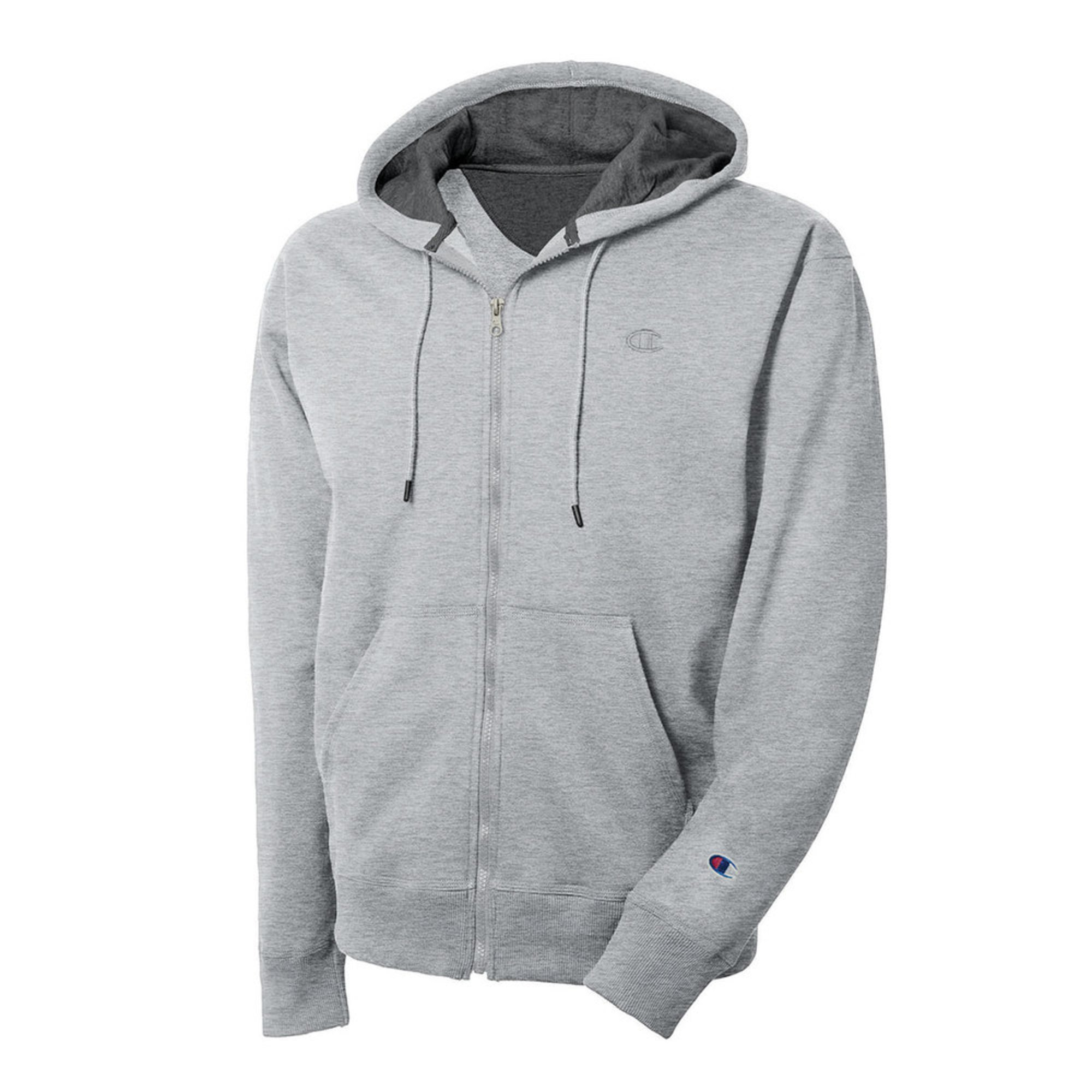 8782ef2d Champion Men's Power Blend Full Zip Hoodie | Active Hoodies & Fleece ...