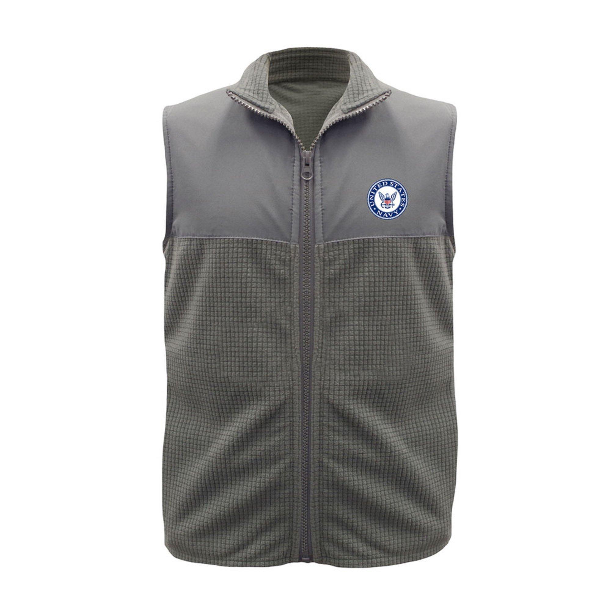 Garb Toddler Boy\u0027s USN Fleece Vest Usn | Little Boys\u0027 Coats \u0026 Jackets