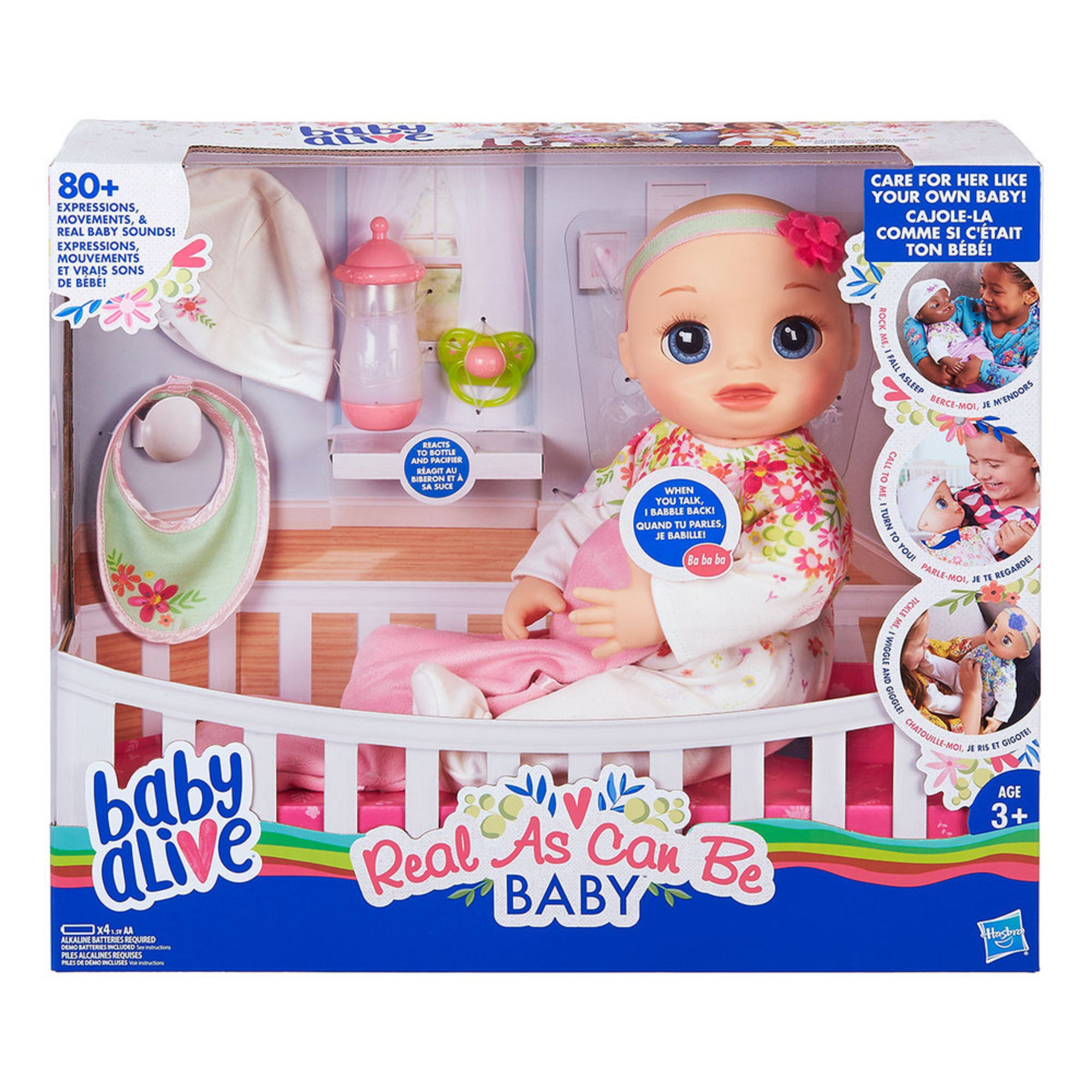51358b41e4 Baby Alive Real As Can Be Baby, Blonde | Dolls | Baby, Kids & Toys - Shop  Your Navy Exchange - Official Site