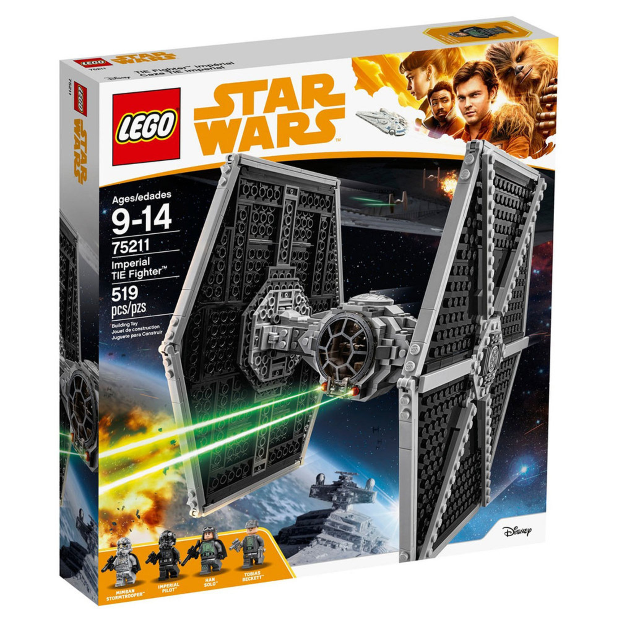 Lego Star Wars Imperial Tie Fighter 75211 Building Sets Kits