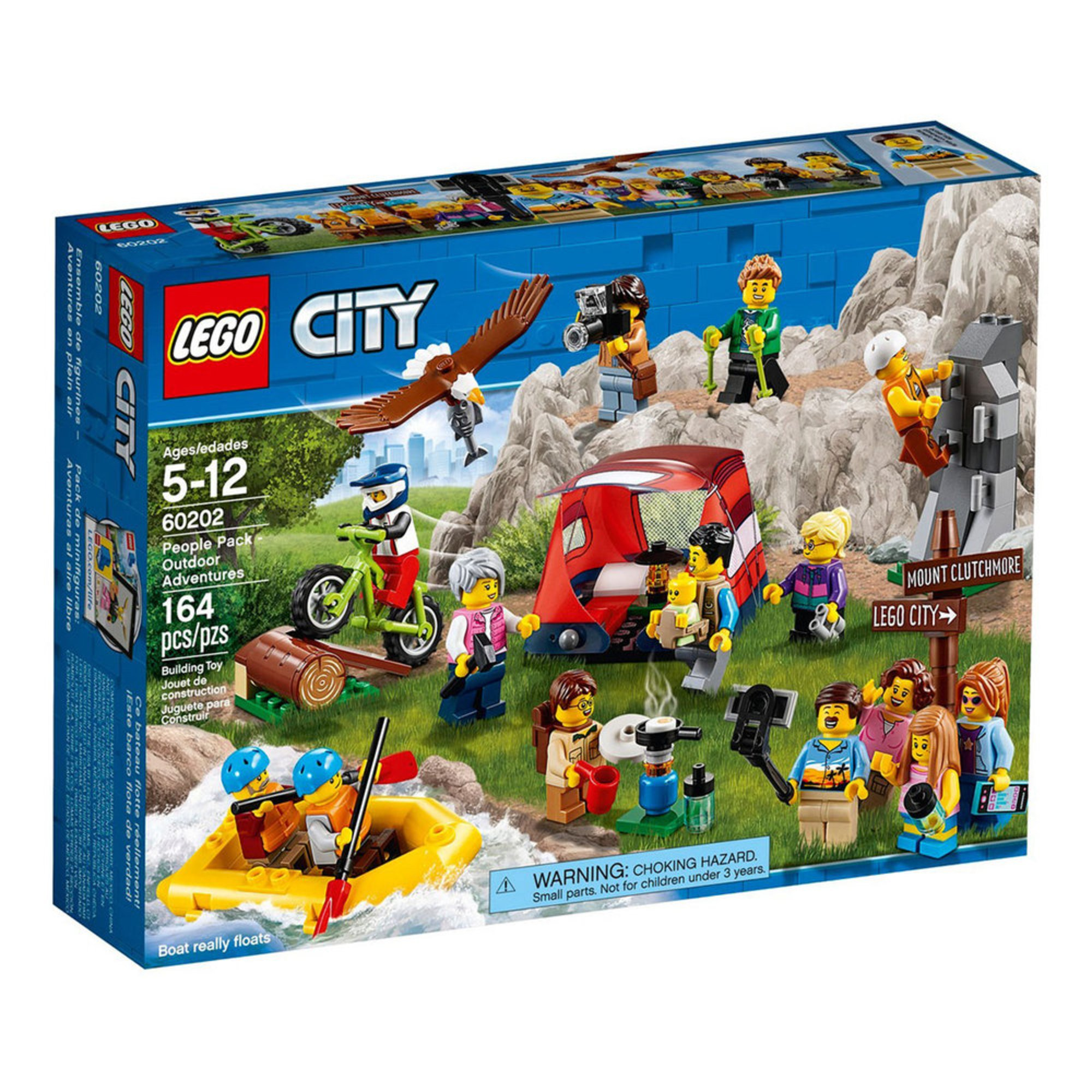 Lego City People Pack Outdoor Adventures 60202 Toys Baby