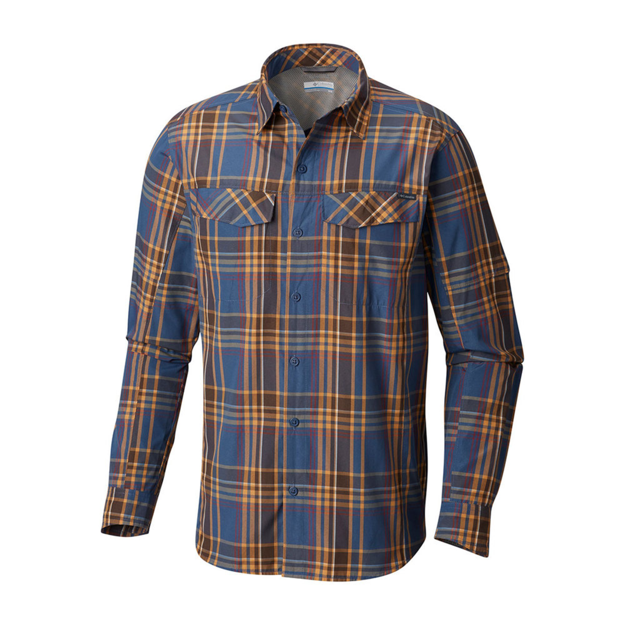 6eb00015e70 Columbia Men's Silver Ridge Plaid Long Sleeve Shirt | Outdoor Button ...