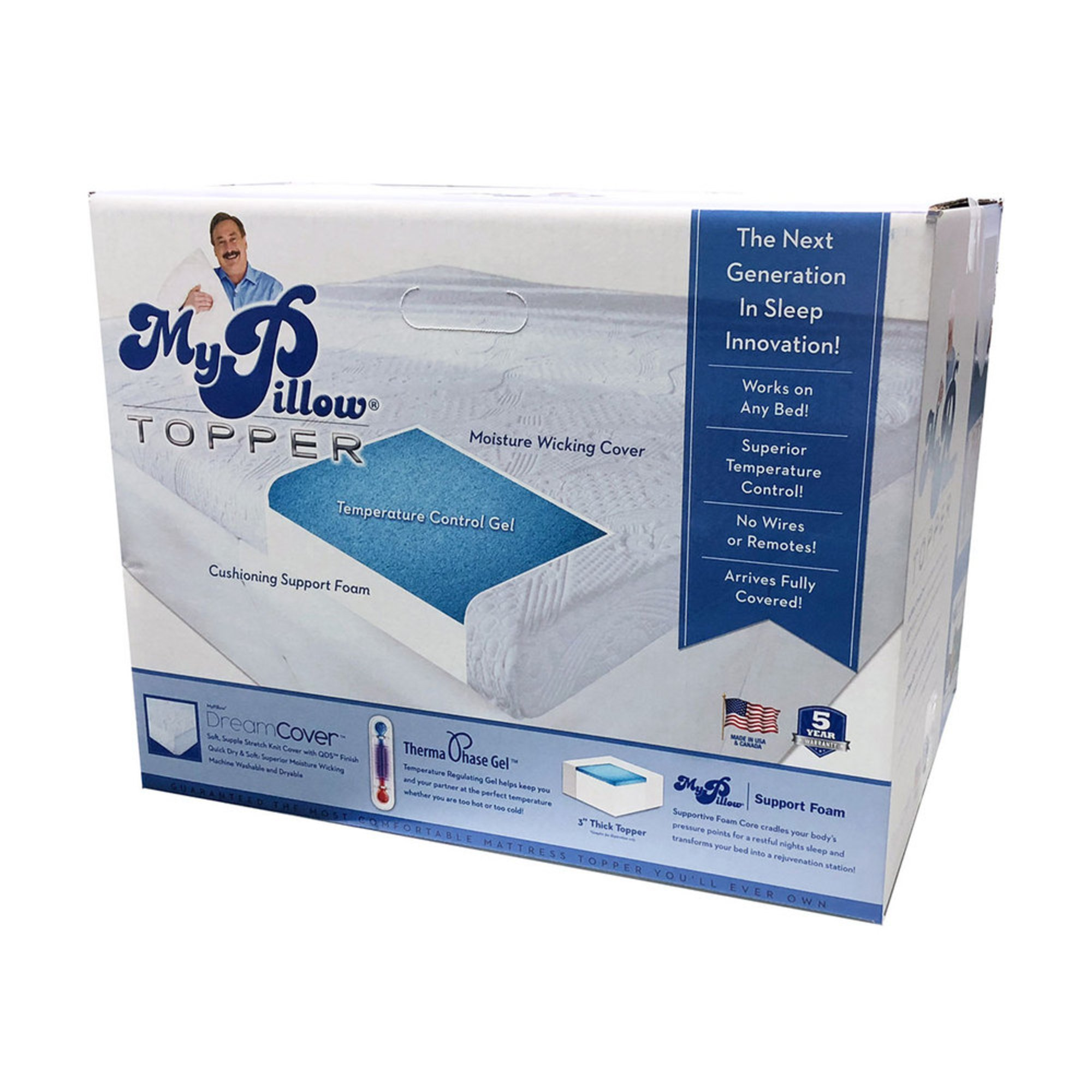 mattress topper as seen on tv As Seen On Tv My Pillow 3