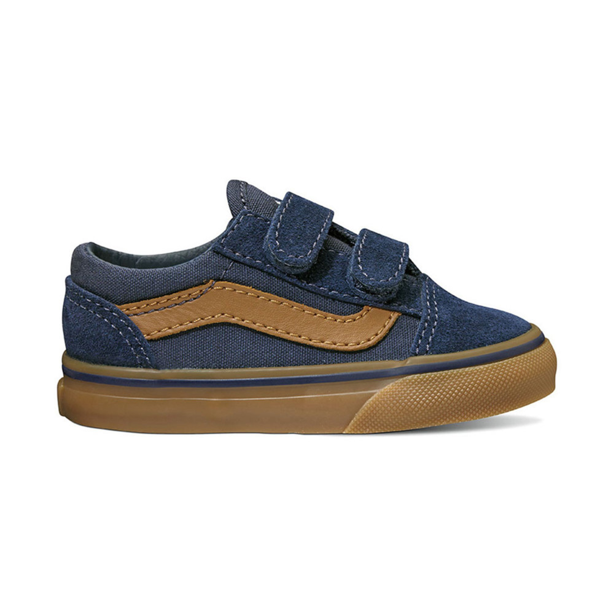 01529083443ab2 Vans. Vans Boys Old Skool Velcro Skate Shoe (Infant Toddler)
