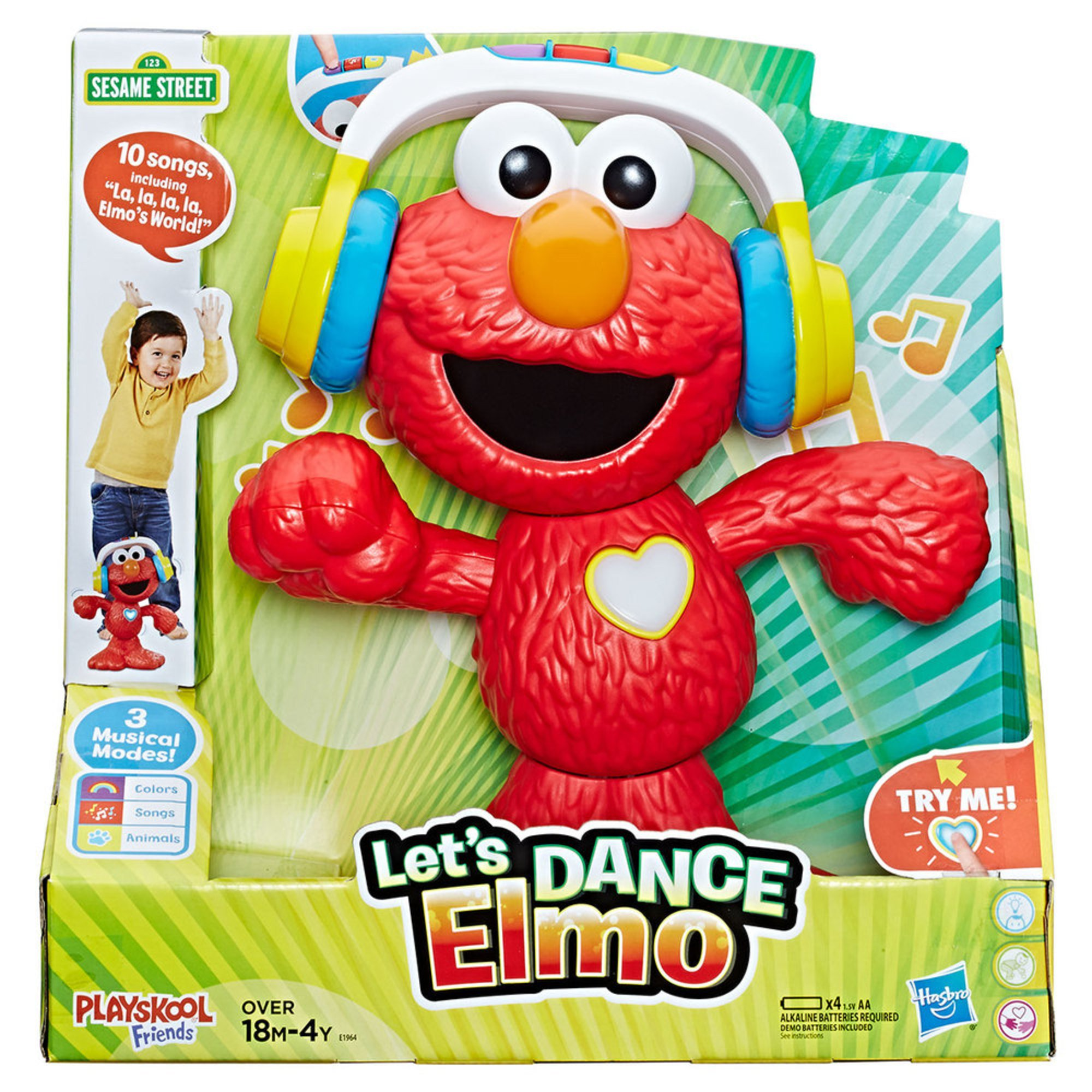 Sesame Street Lets Dance Elmo Early Learning Toys Baby Kids
