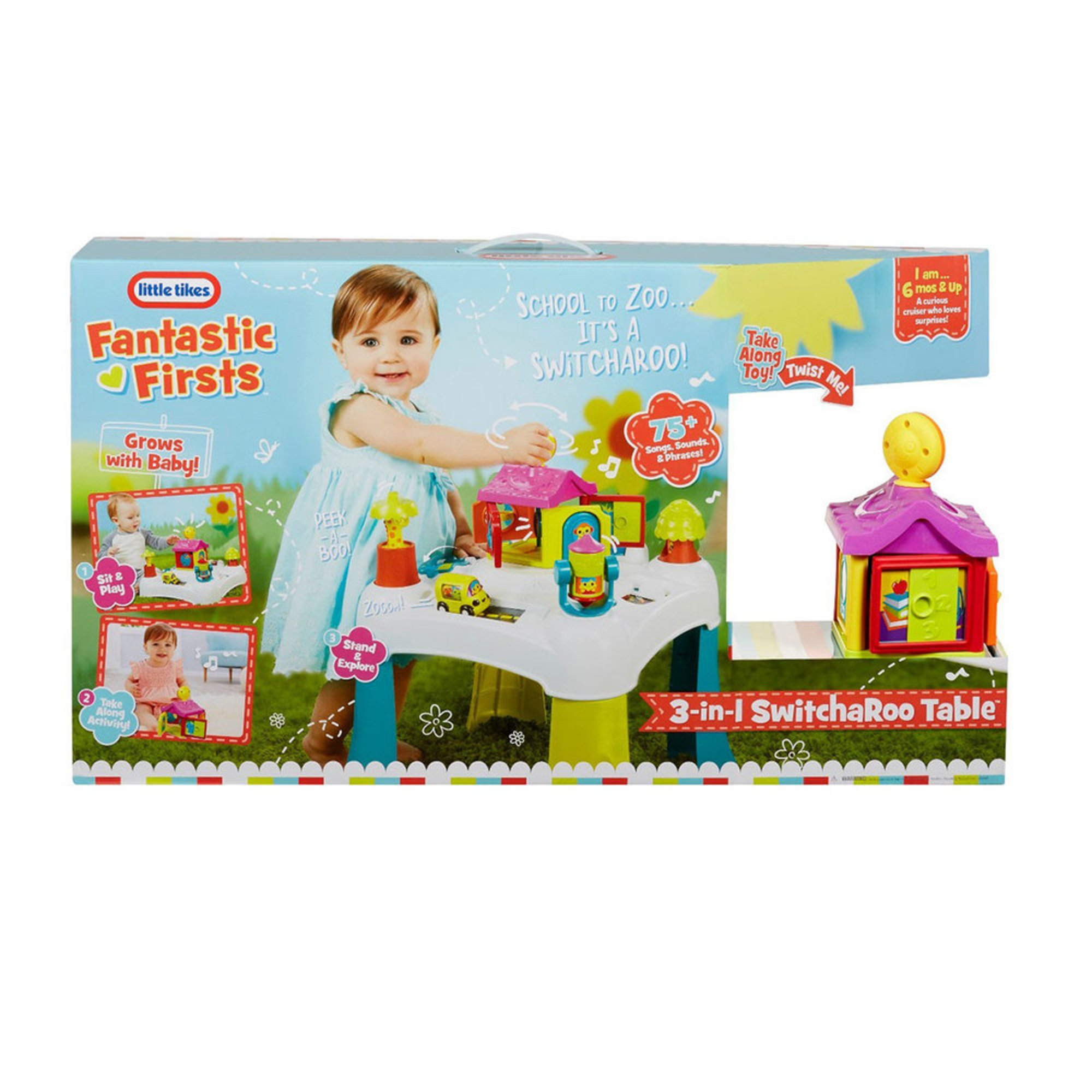 000 3-in-1 Switcharoo Table | Early Learning Toys Baby, Kids \u0026