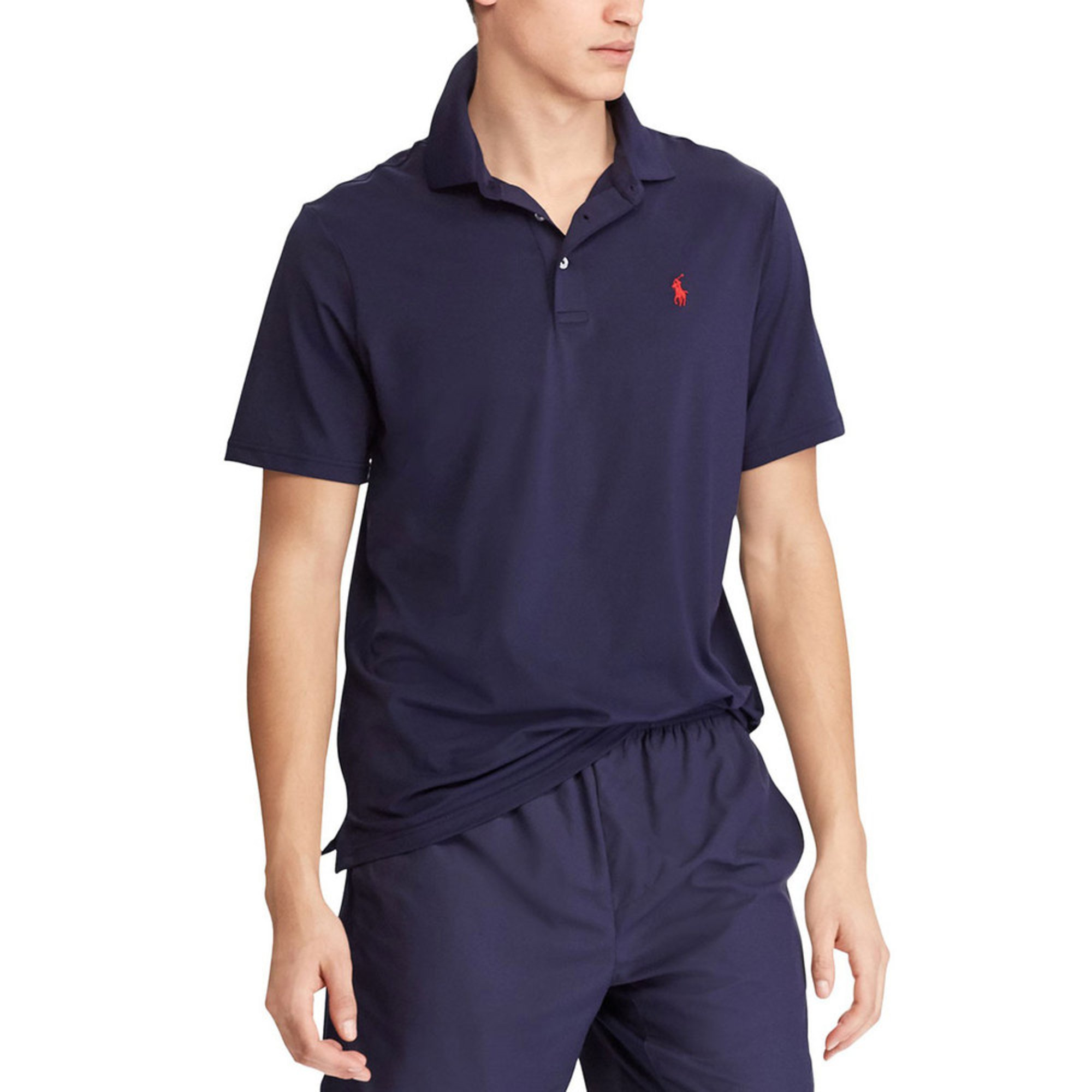 Polo Ralph Lauren Mens Short Sleeve Performance Airflow Polo